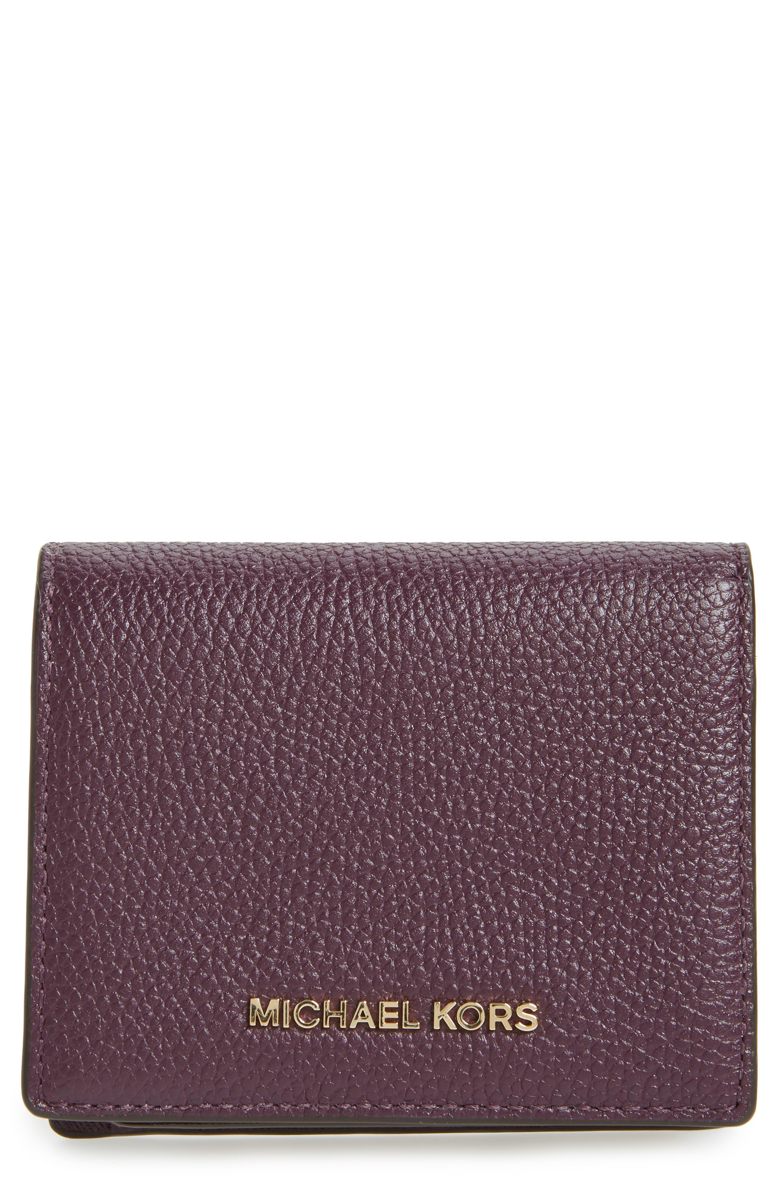 MICHAEL Michael Kors Mercer Leather RFID Card Holder