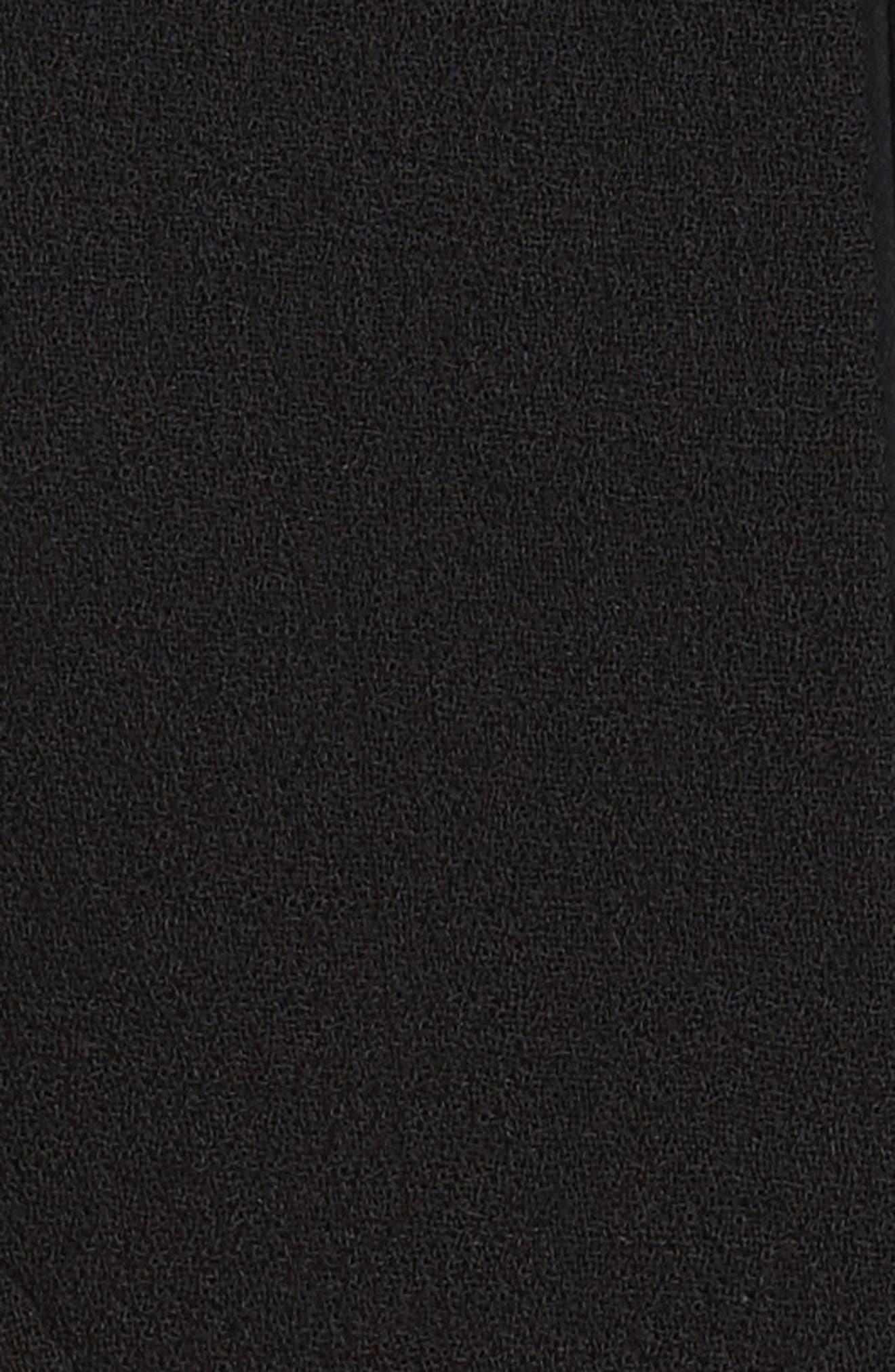 Alternate Image 5  - Carmen Marc Valvo Double Face Wool Crepe Sheath Dress