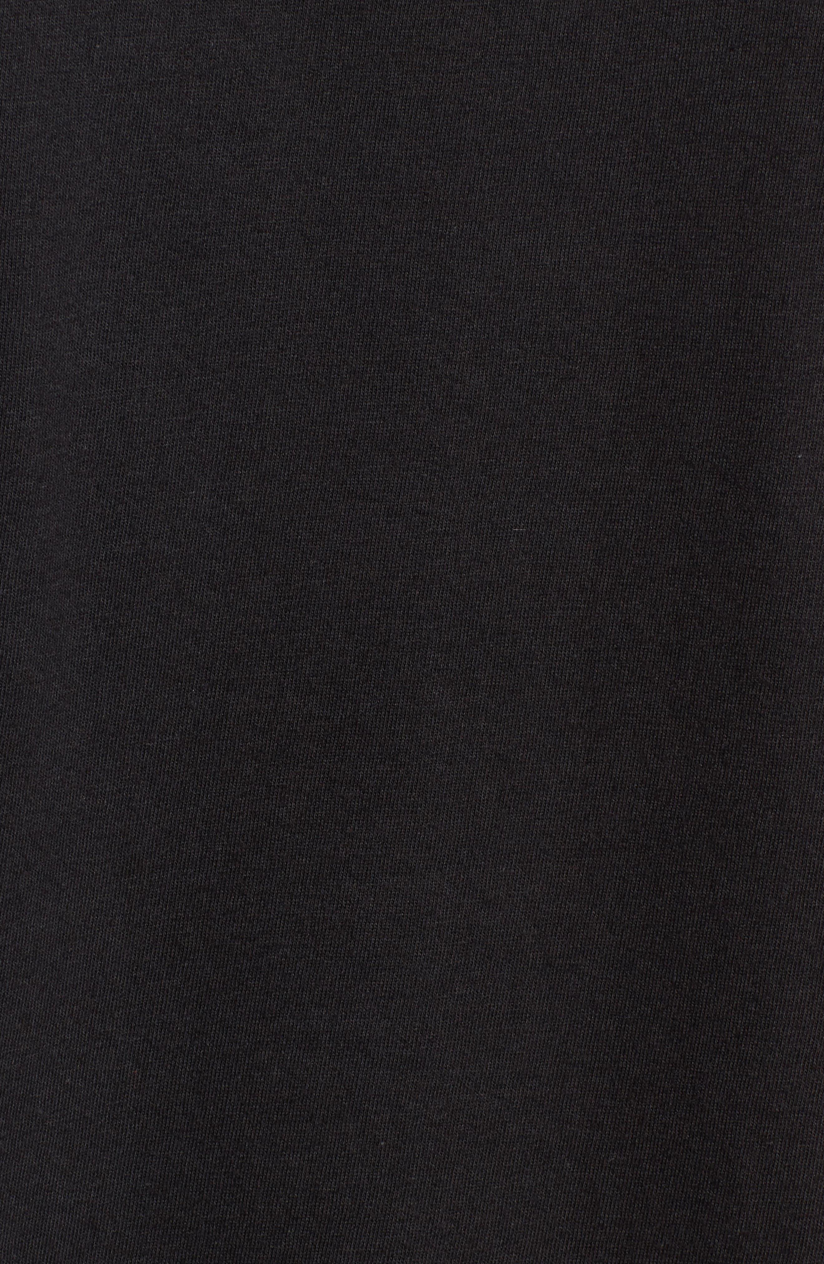 The Edge Premium Graphic T-Shirt,                             Alternate thumbnail 5, color,                             Black