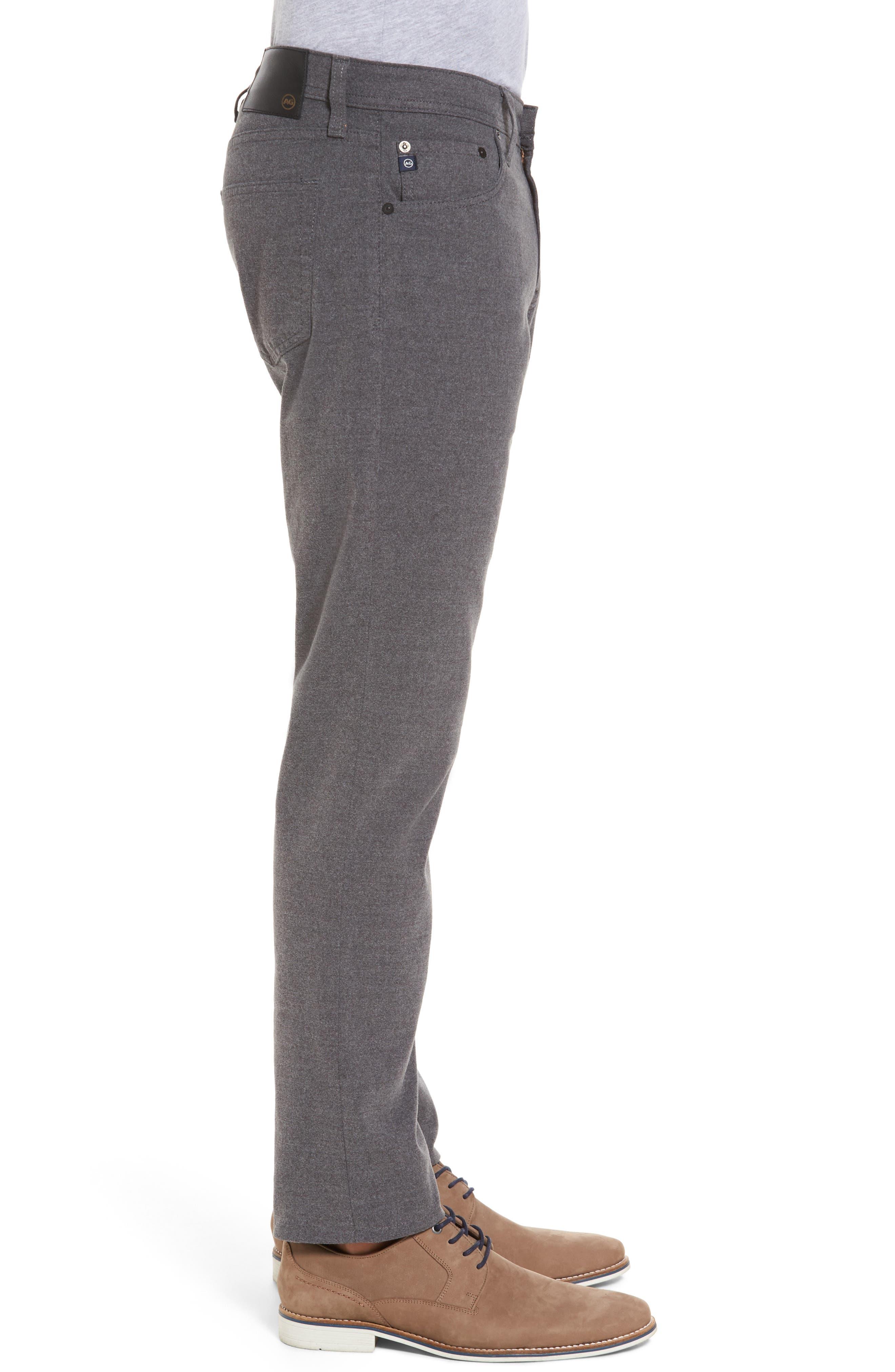 Tellis Slim Fit Five-Pocket Pants,                             Alternate thumbnail 3, color,                             Dark Ridge