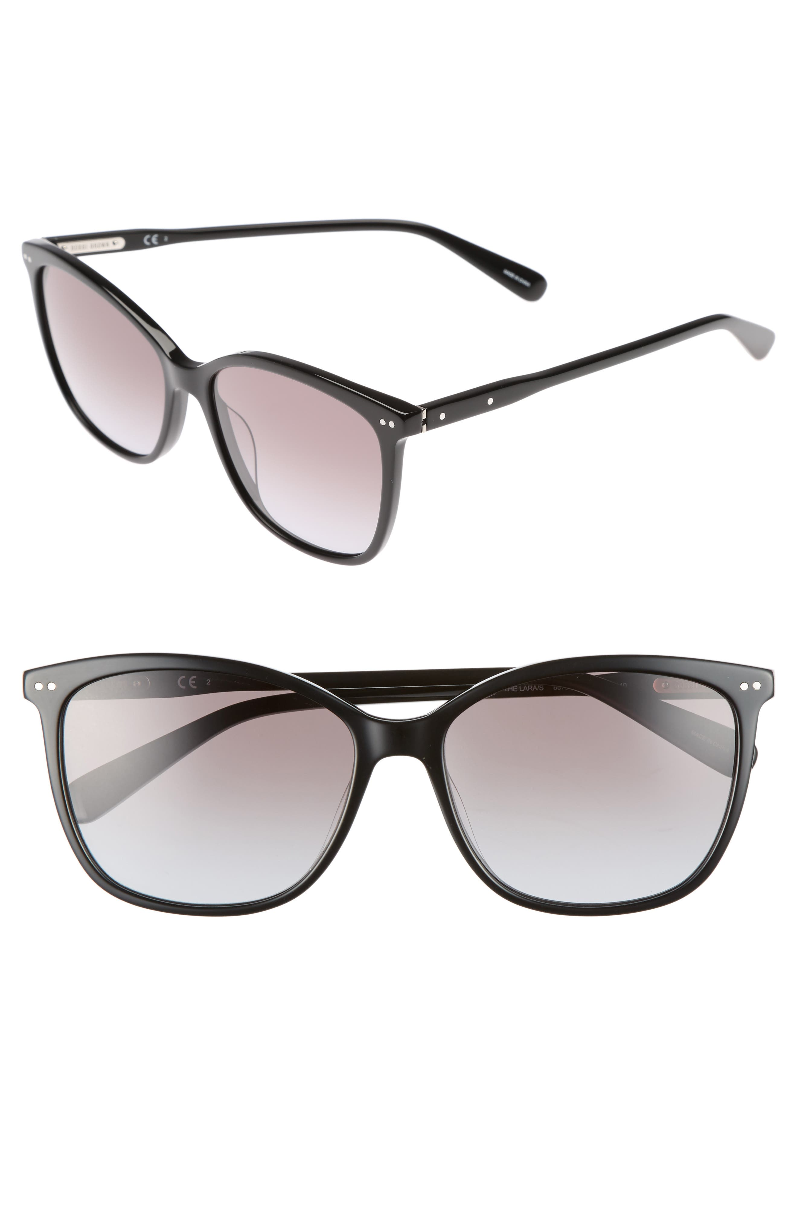 Alternate Image 1 Selected - Bobbi Brown The Lara 56mm Cat Eye Sunglasses