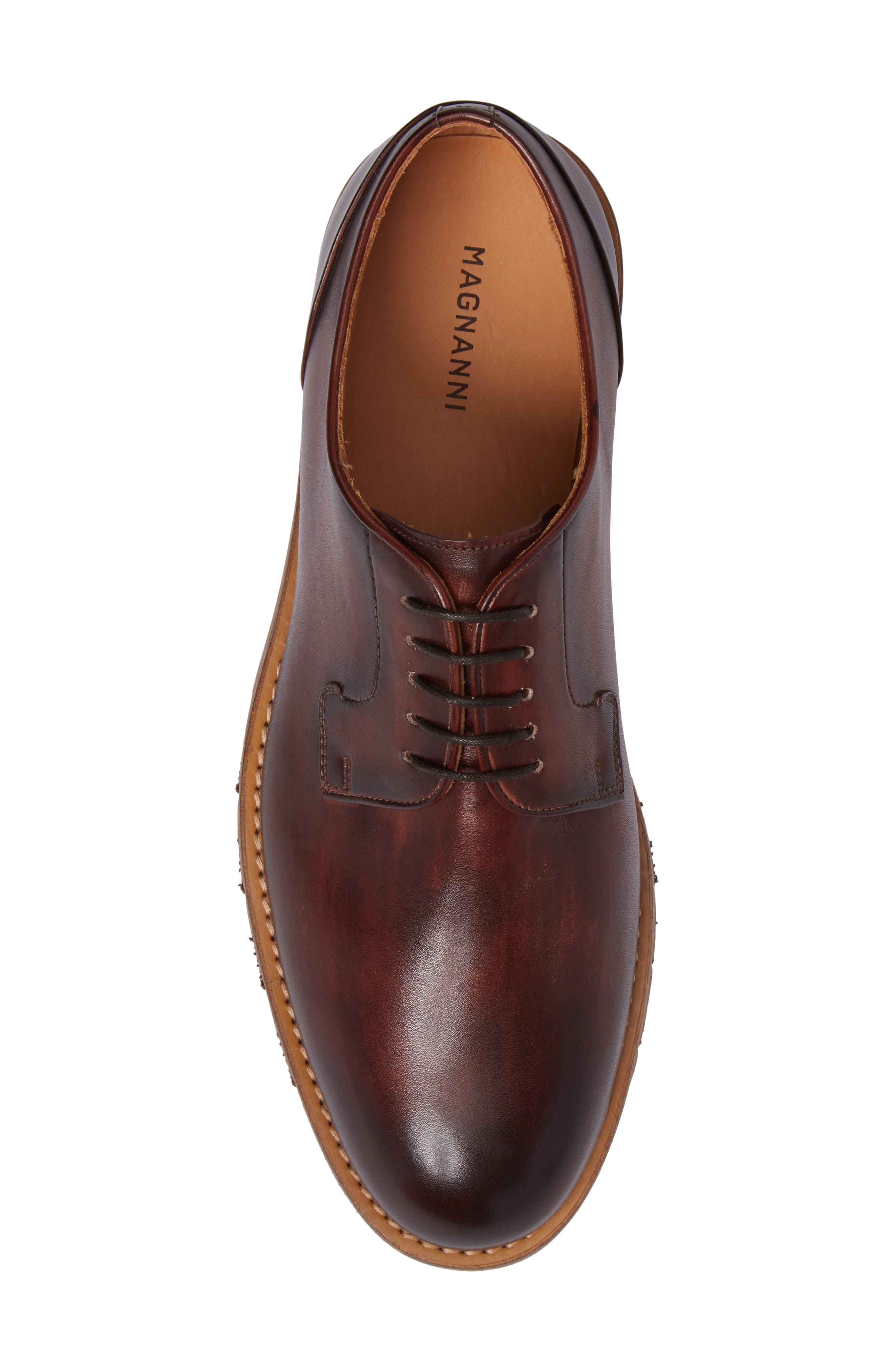 Alternate Image 5  - Magnanni Aliva Plain Toe Derby (Men)