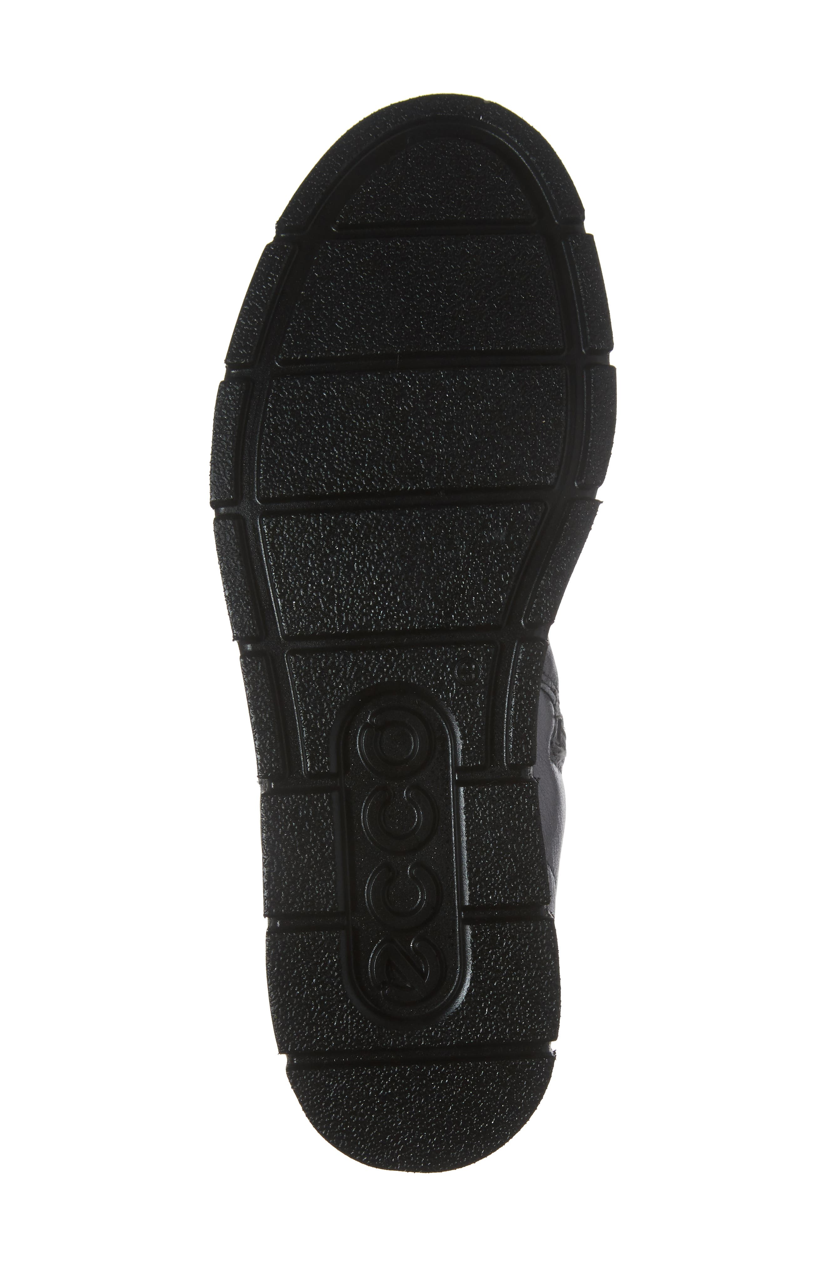 'Bella' Zip Bootie,                             Alternate thumbnail 6, color,                             Dark Shadow Leather