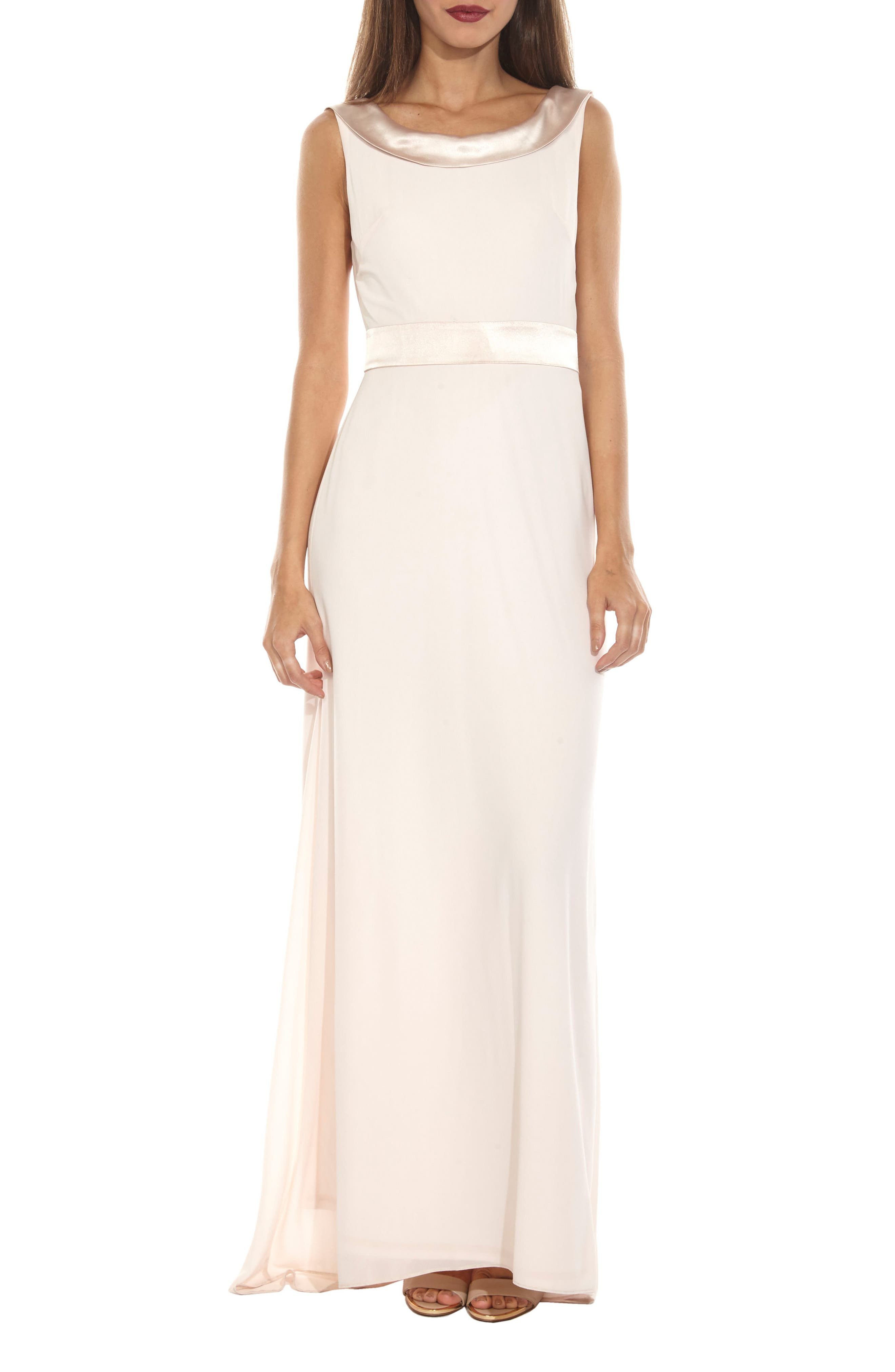 Alternate Image 1 Selected - TFNC Daralls V-Back Maxi Dress