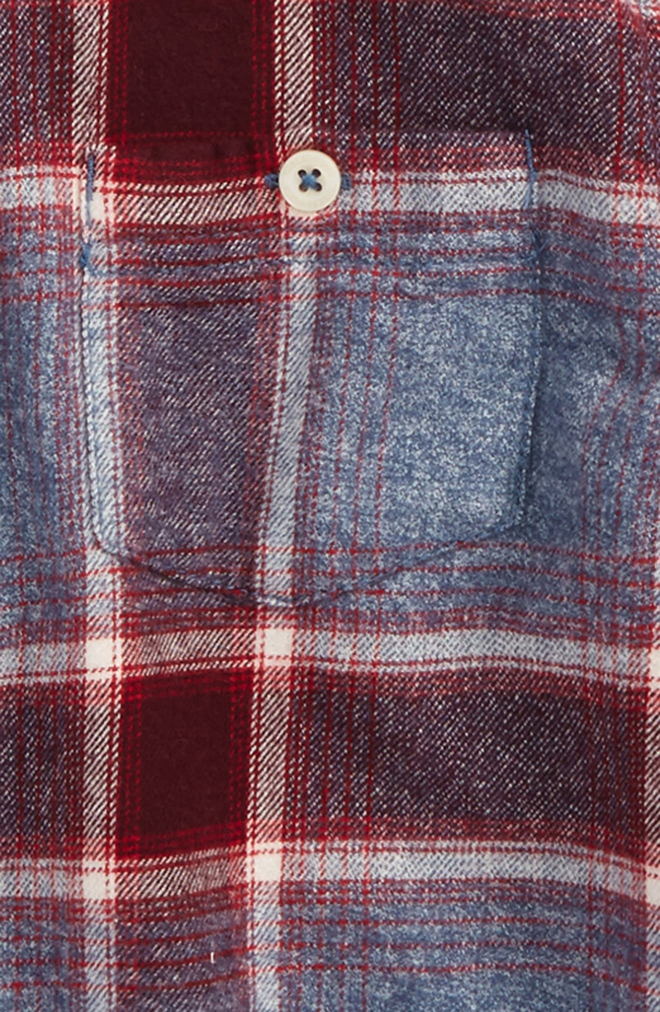 Alternate Image 2  - Tucker + Tate Plaid Flannel Shirt (Toddler Boys & Little Boys)