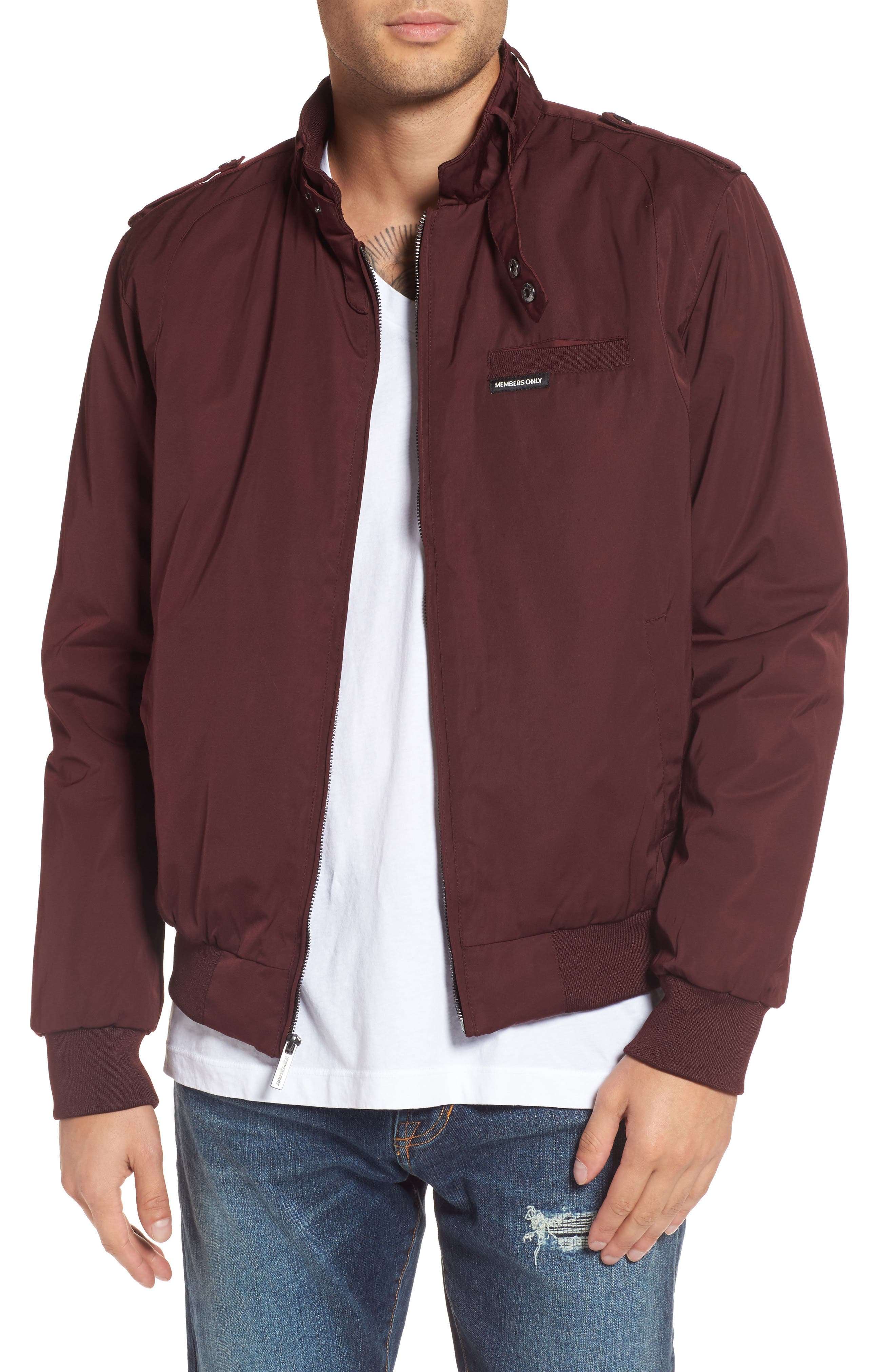 Members Only Twill Iconic Jacket