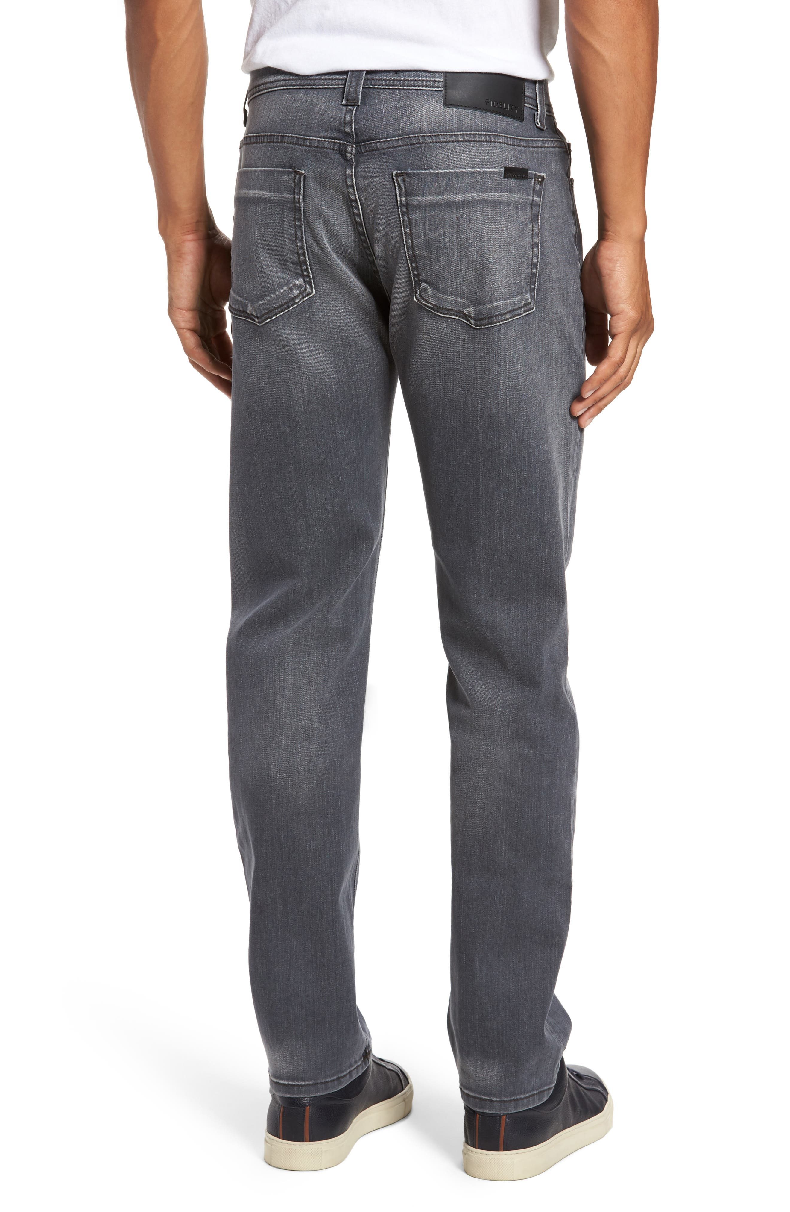 Jimmy Slim Straight Fit Jeans,                             Alternate thumbnail 2, color,                             Steelo Vintage