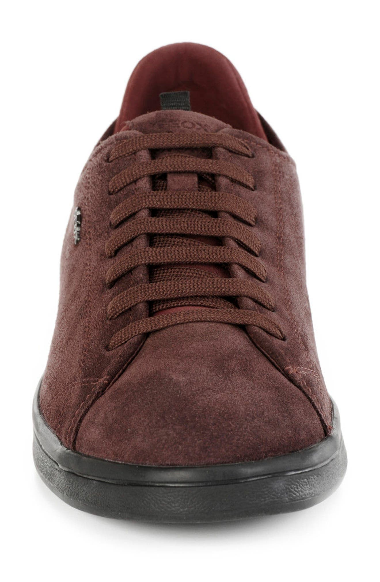 Warrens 8 Low-Top Sneaker,                             Alternate thumbnail 4, color,                             Bordeaux