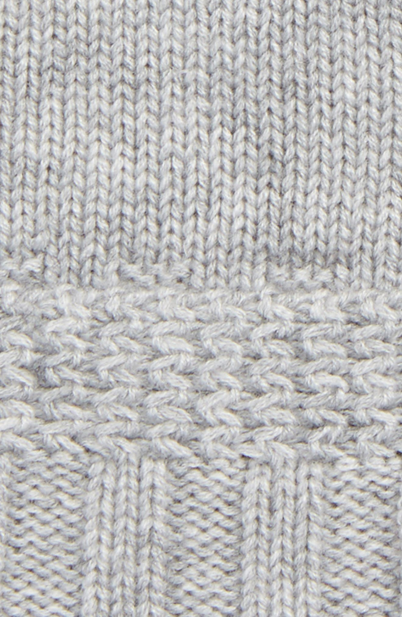 Alternate Image 2  - UGG® Texture Knit Fingerless Gloves