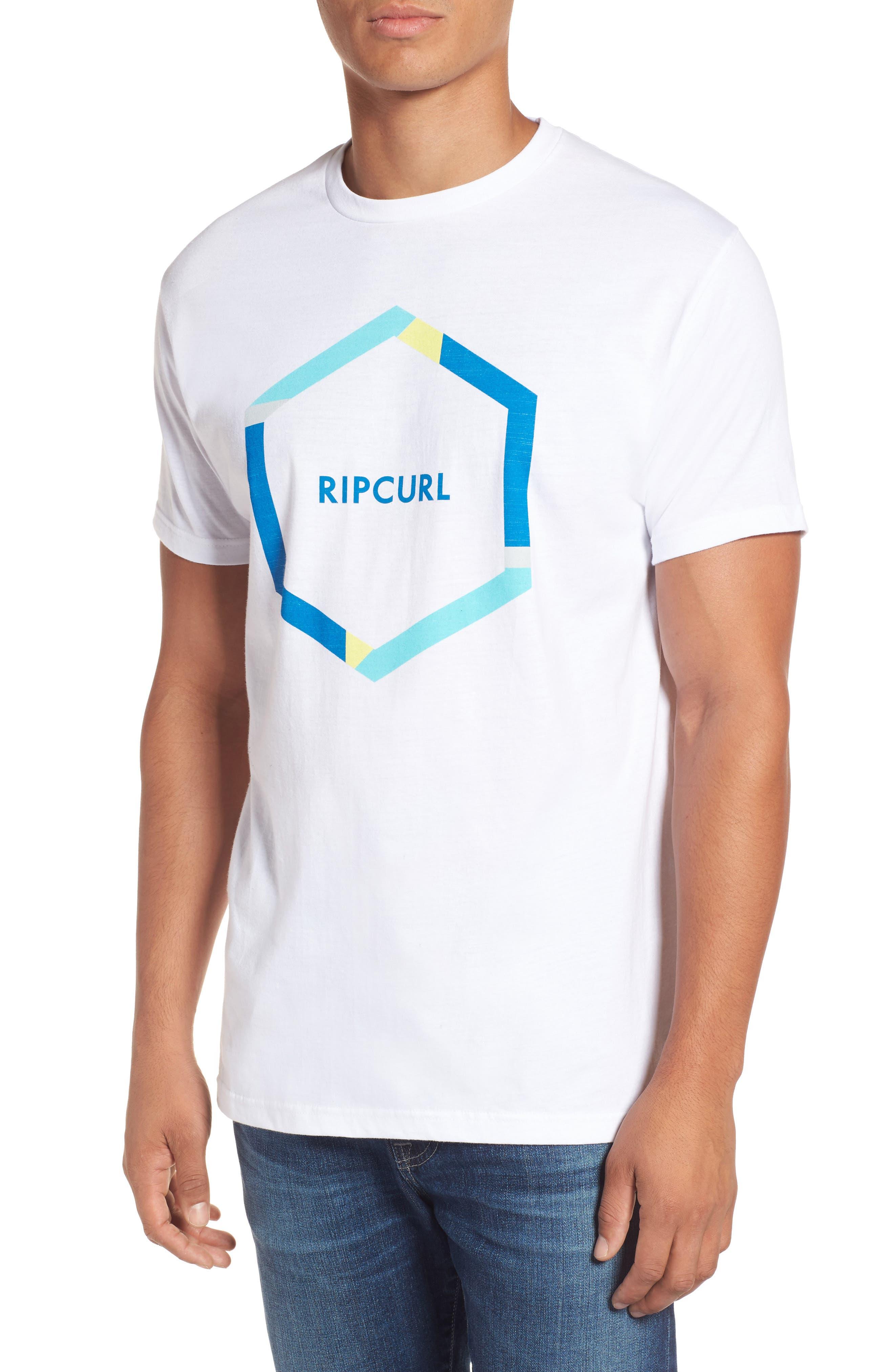 Rip Curl Beacons Heather Logo Graphic T-Shirt