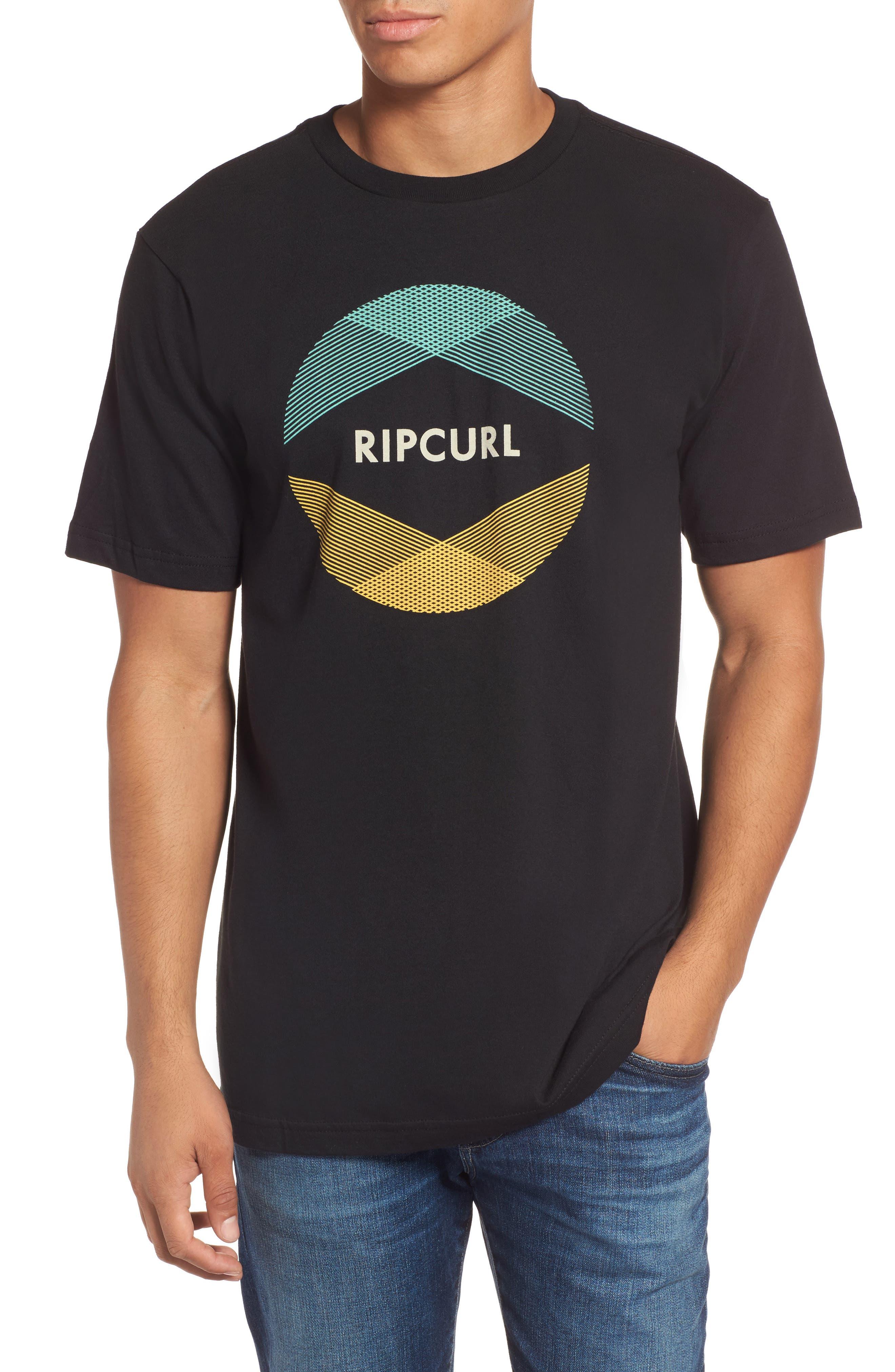 Alternate Image 1 Selected - Rip Curl Calypso Classic Logo Graphic T-Shirt