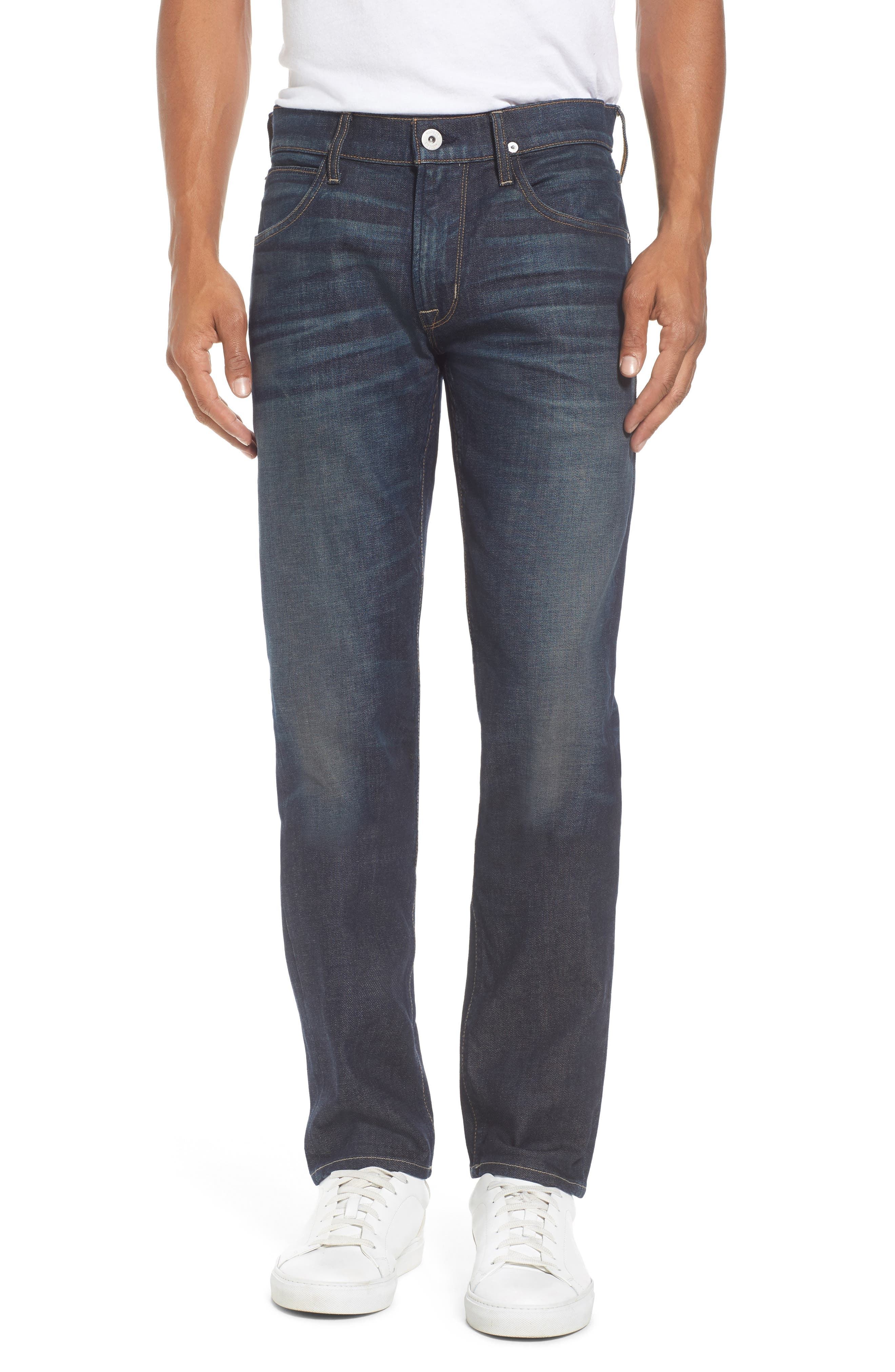 Alternate Image 1 Selected - Hudson Jeans Blake Slim Fit Jeans (Crusher)