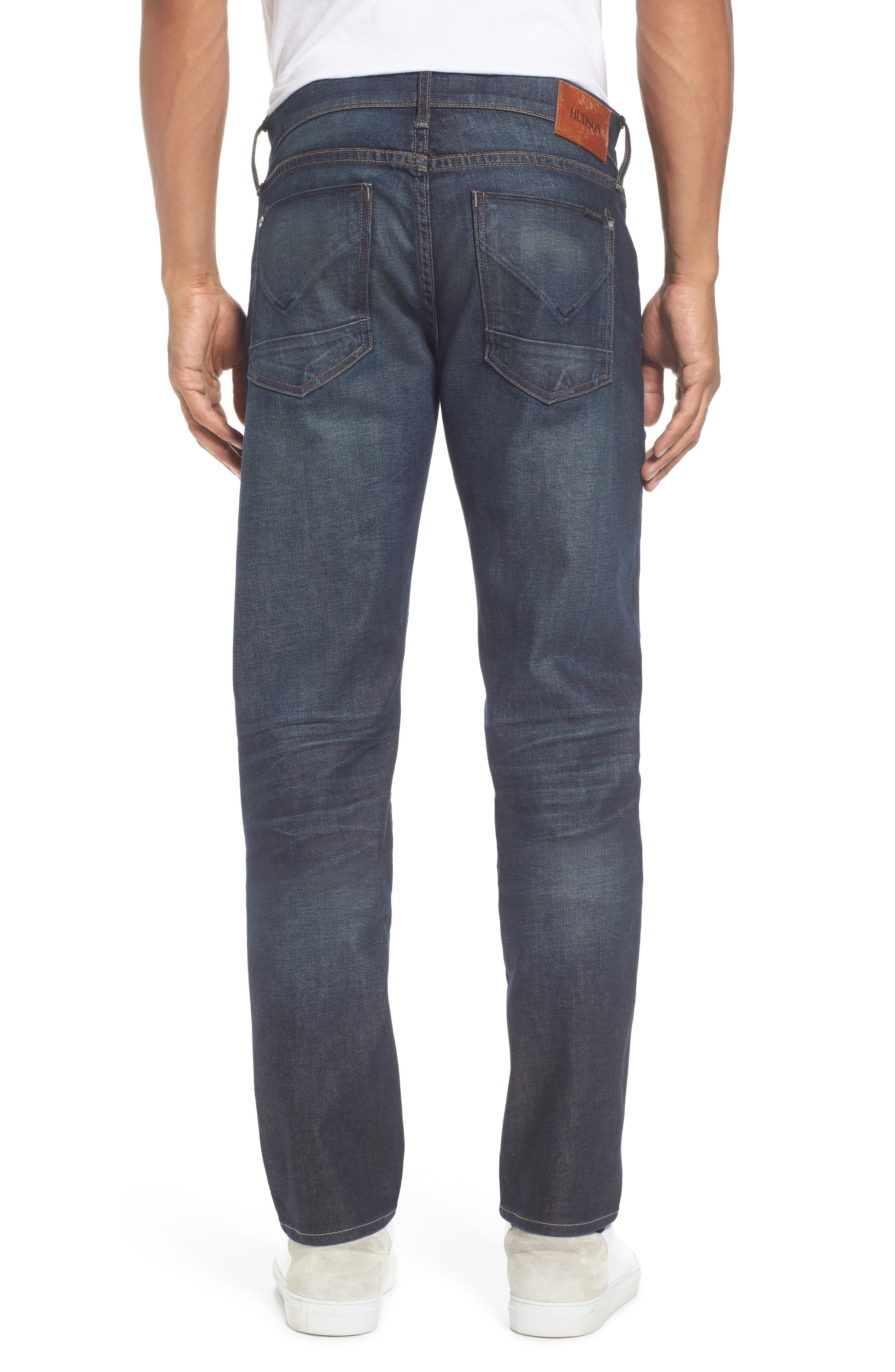 Alternate Image 2  - Hudson Jeans Blake Slim Fit Jeans (Crusher)