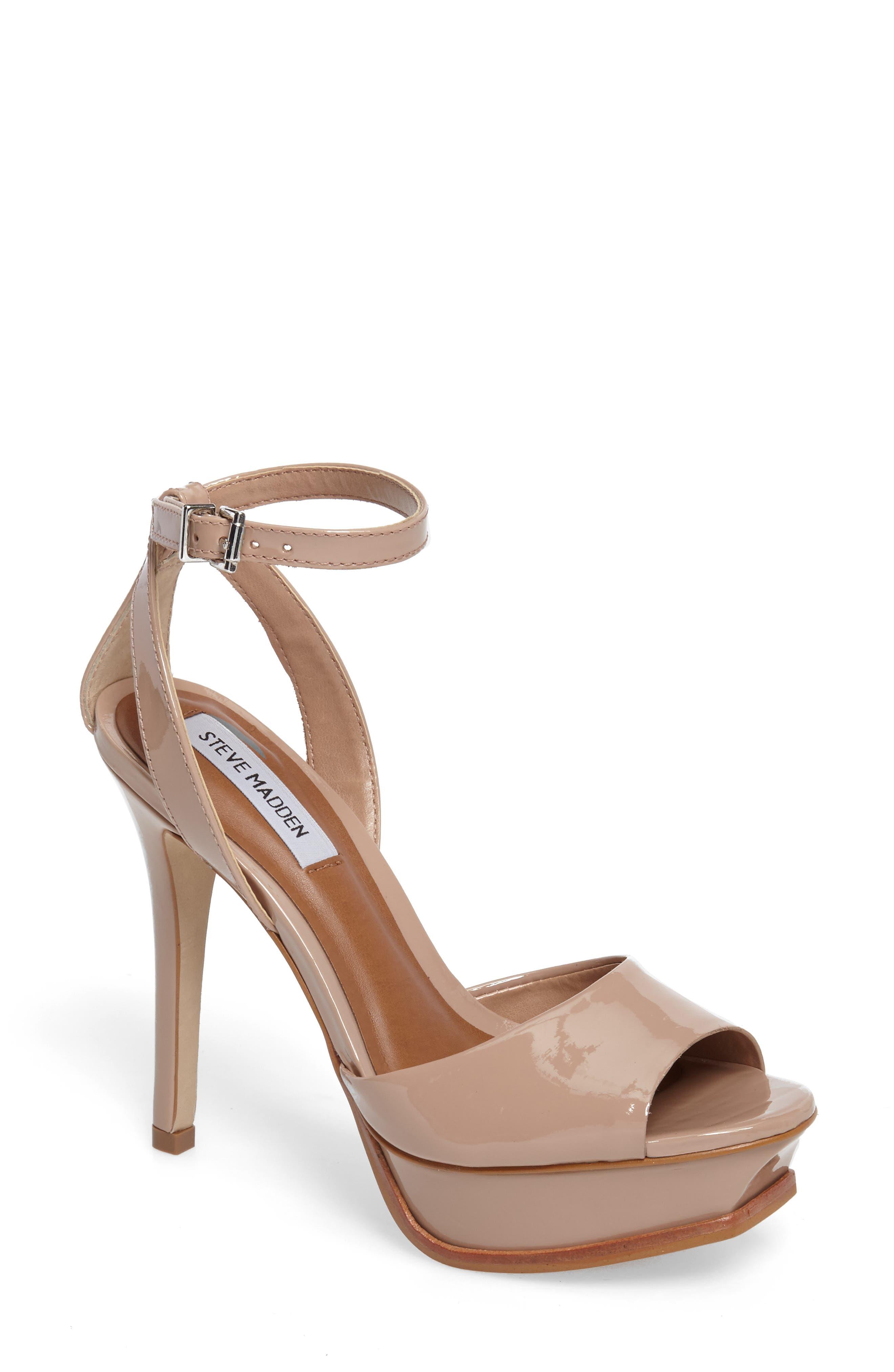 Alternate Image 1 Selected - Steve Madden Karmina Platform Sandal (Women)