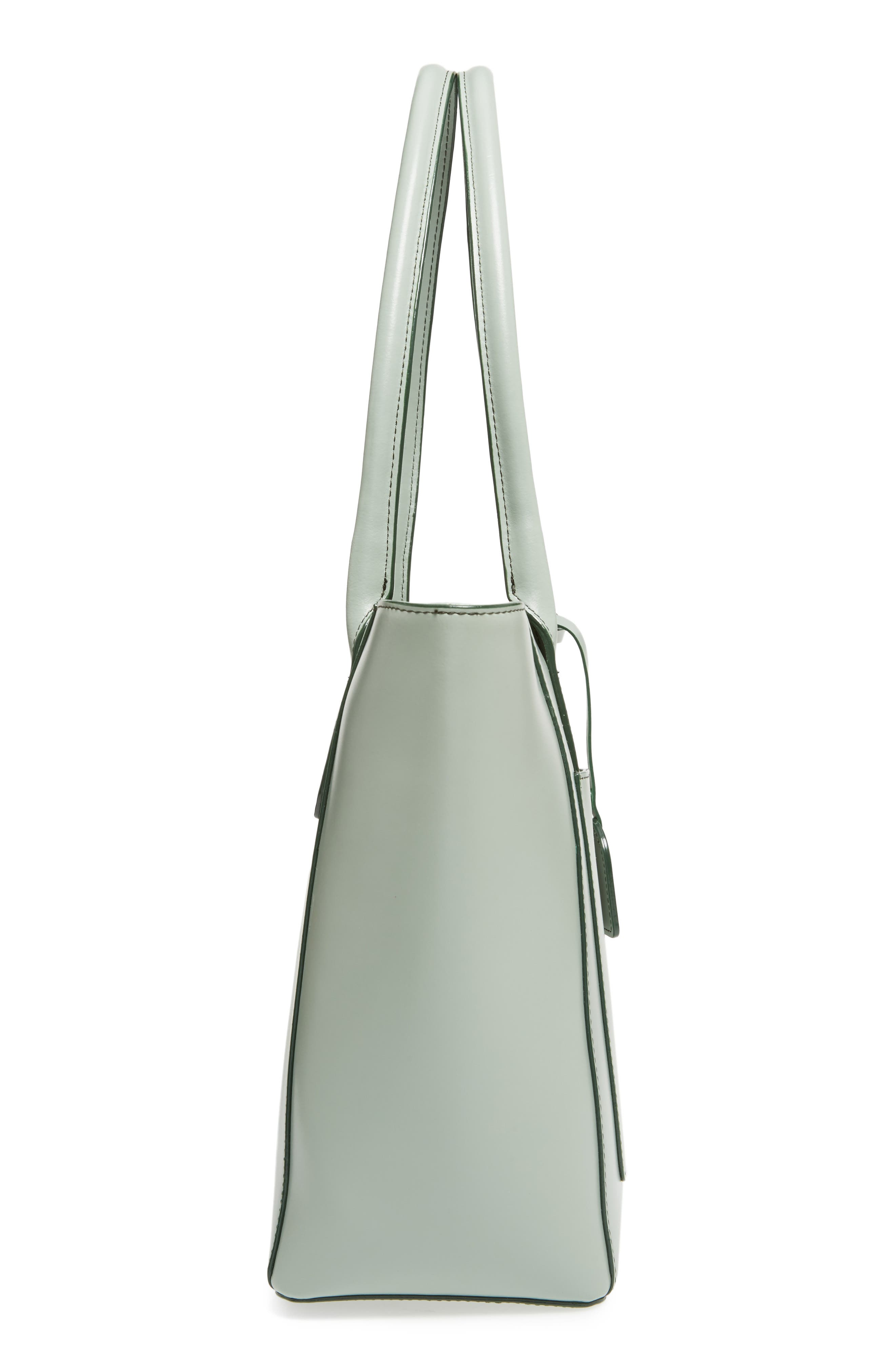 Alternate Image 4  - Lodis Audrey Under Lock & Key - Medium Margaret RFID Leather Tote with Zip Pouch