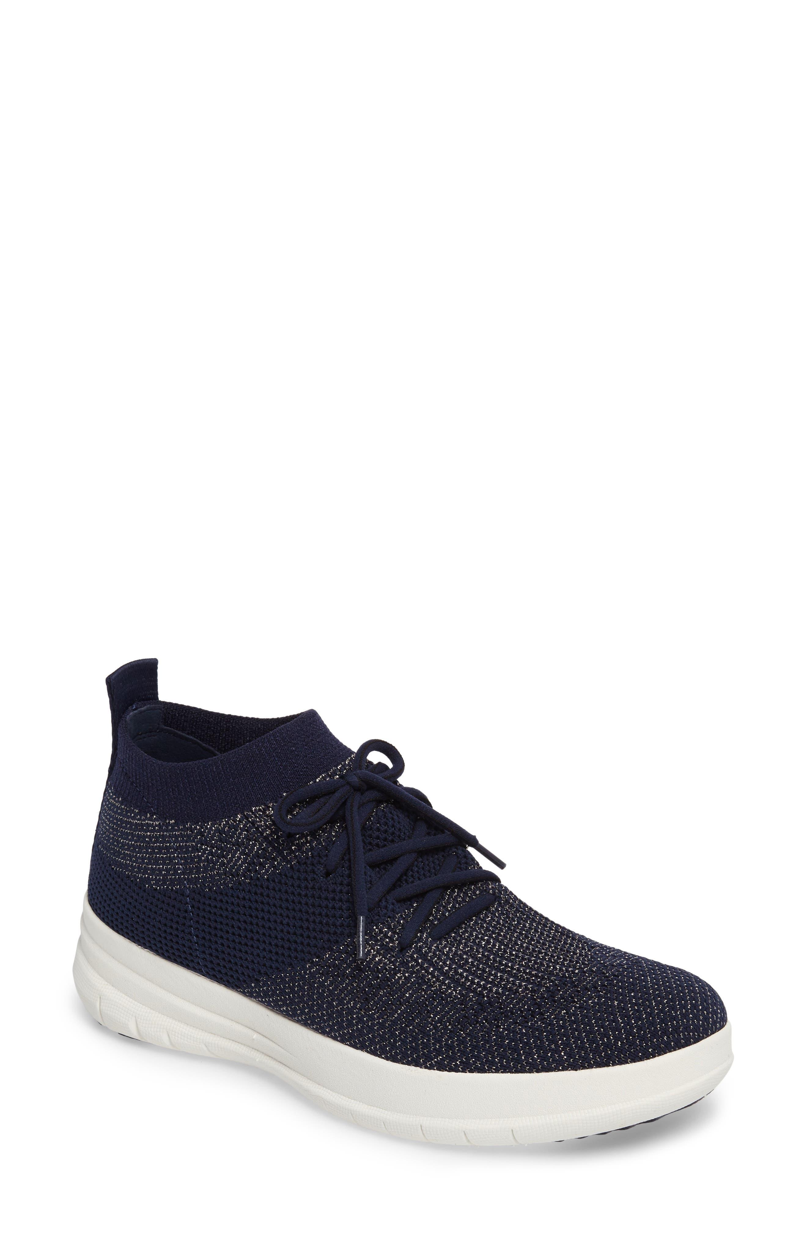 FitFlop Uberknit™ Slip-On High-Top Sneaker (Women)