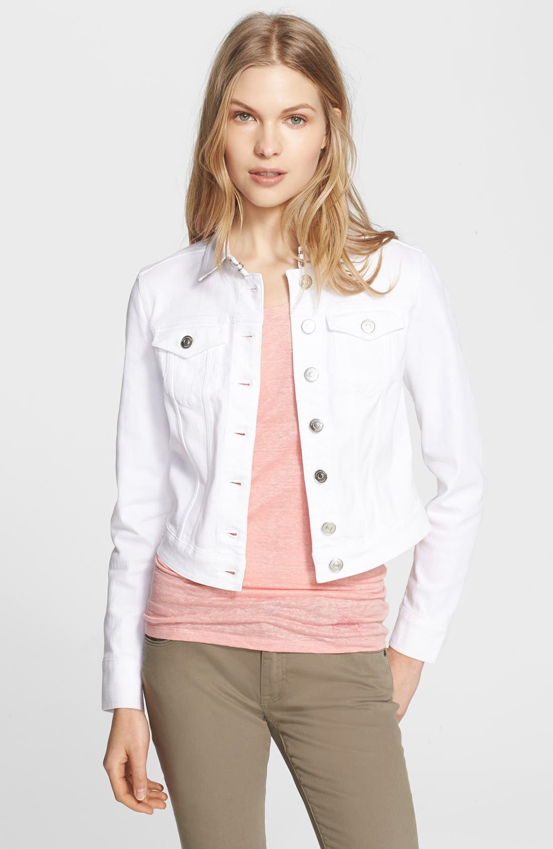 Alternate Image 1 Selected - Burberry Brit Denim Jacket