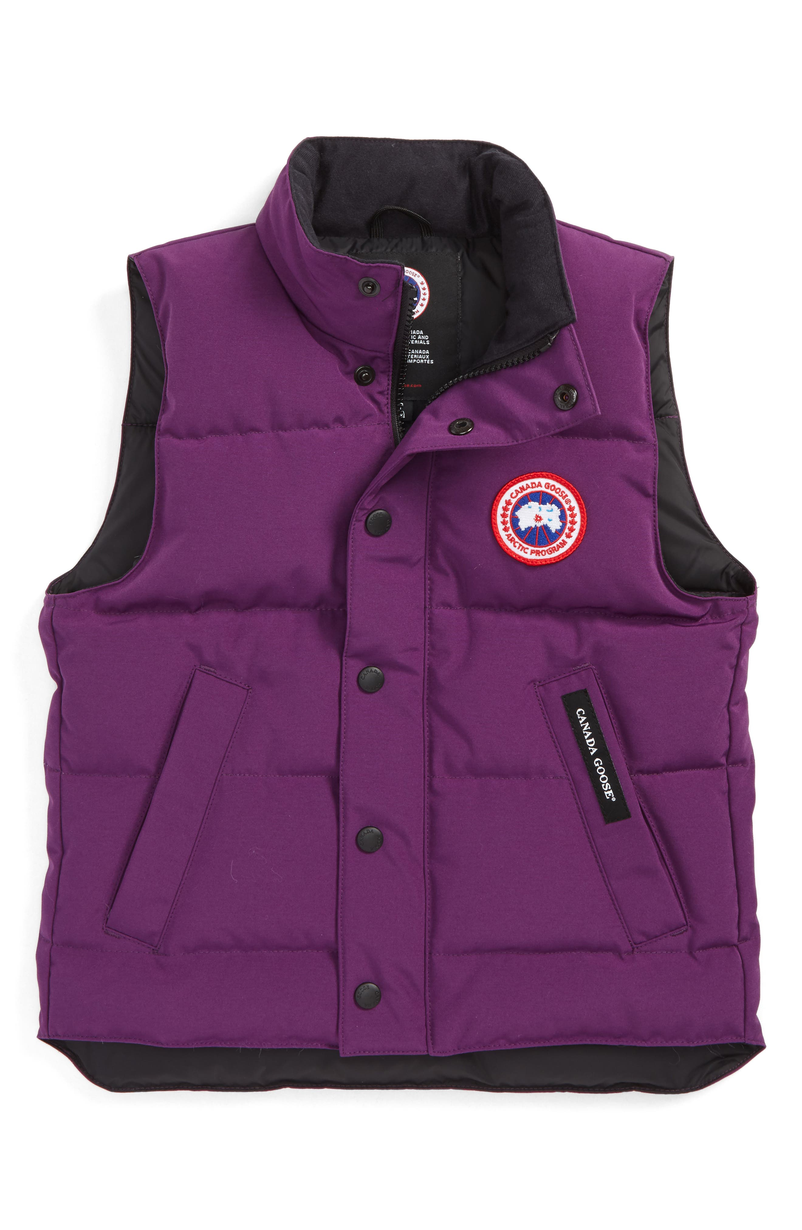 Alternate Image 1 Selected - Canada Goose 'Vanier' Down Vest (Little Girls & Big Girls)