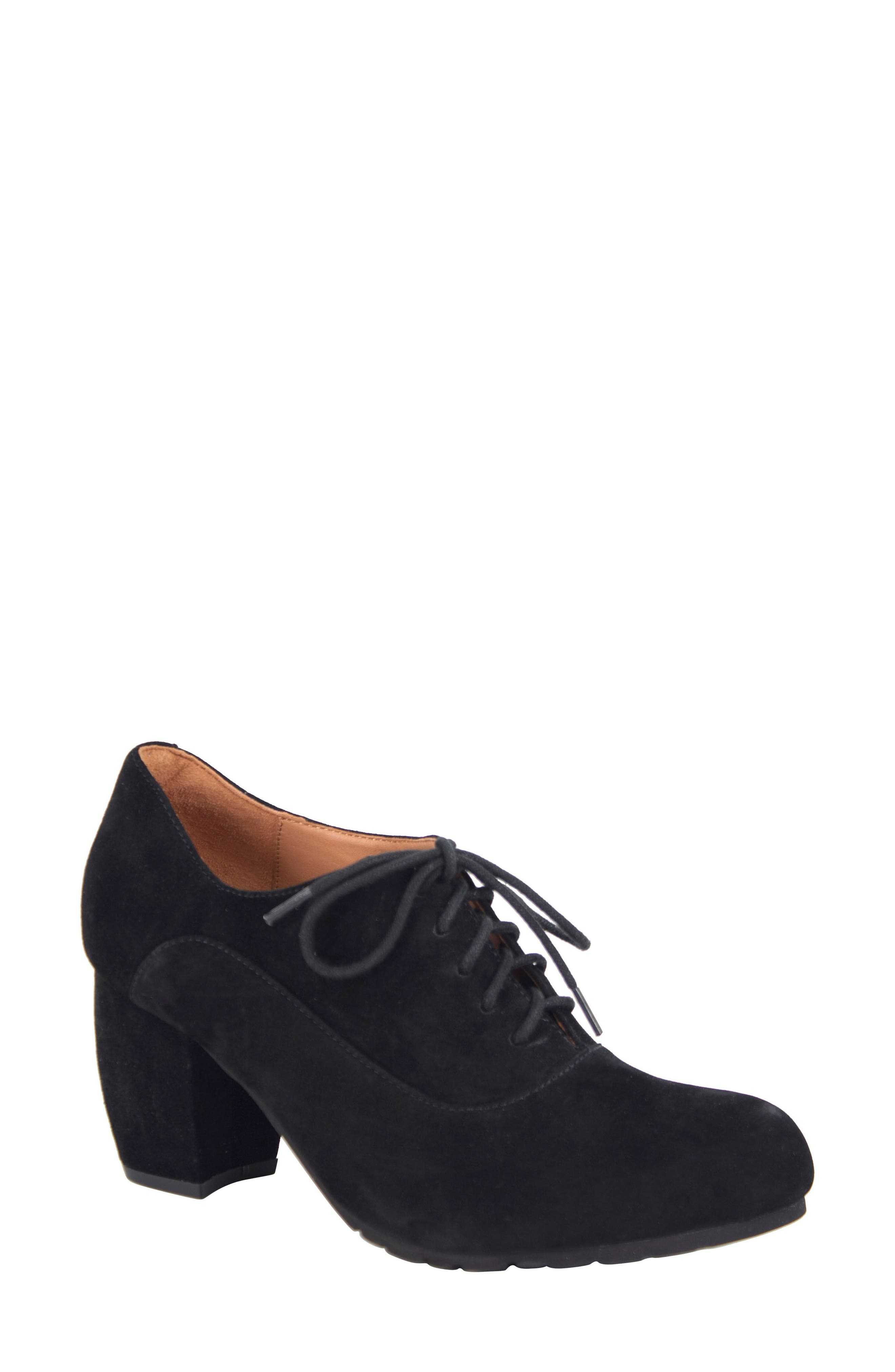 Main Image - L'Amour des Pieds Pardoe Lace-Up Bootie (Women)