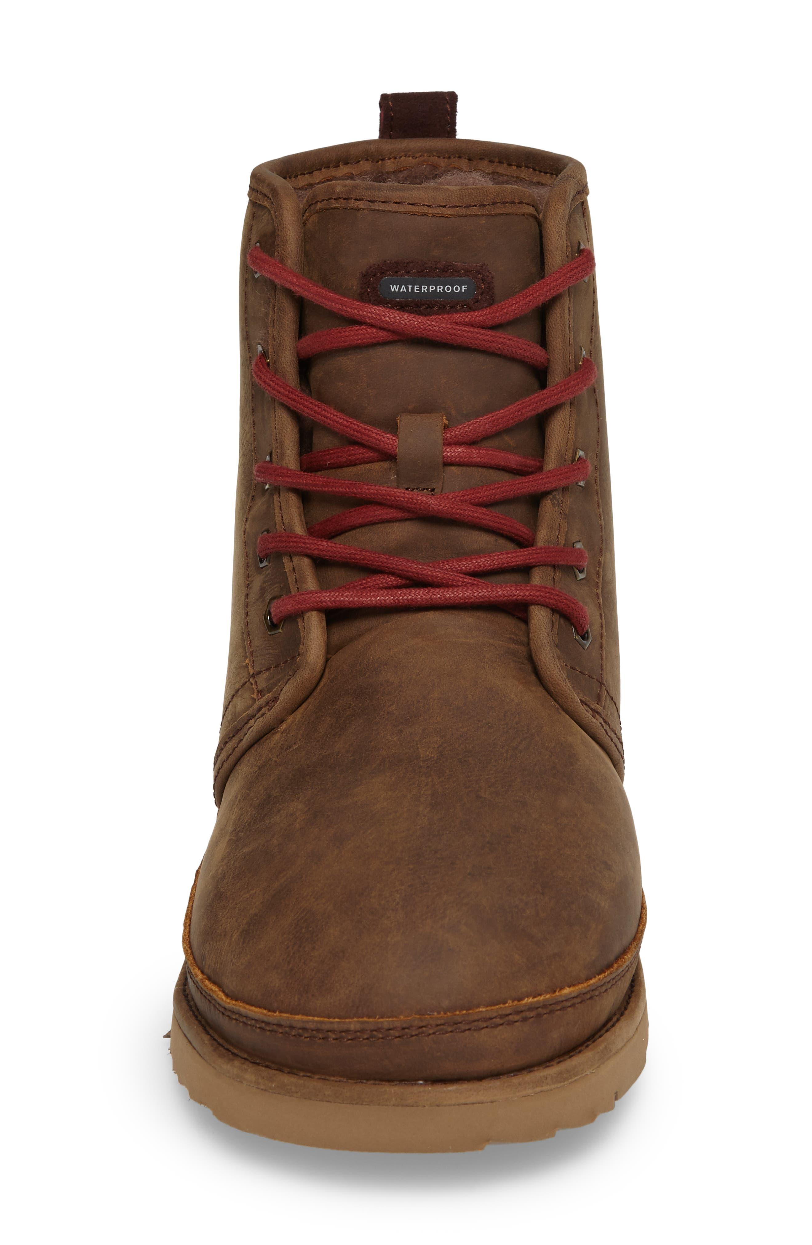 Alternate Image 4  - UGG® Harkley Plain Toe Boot (Men)