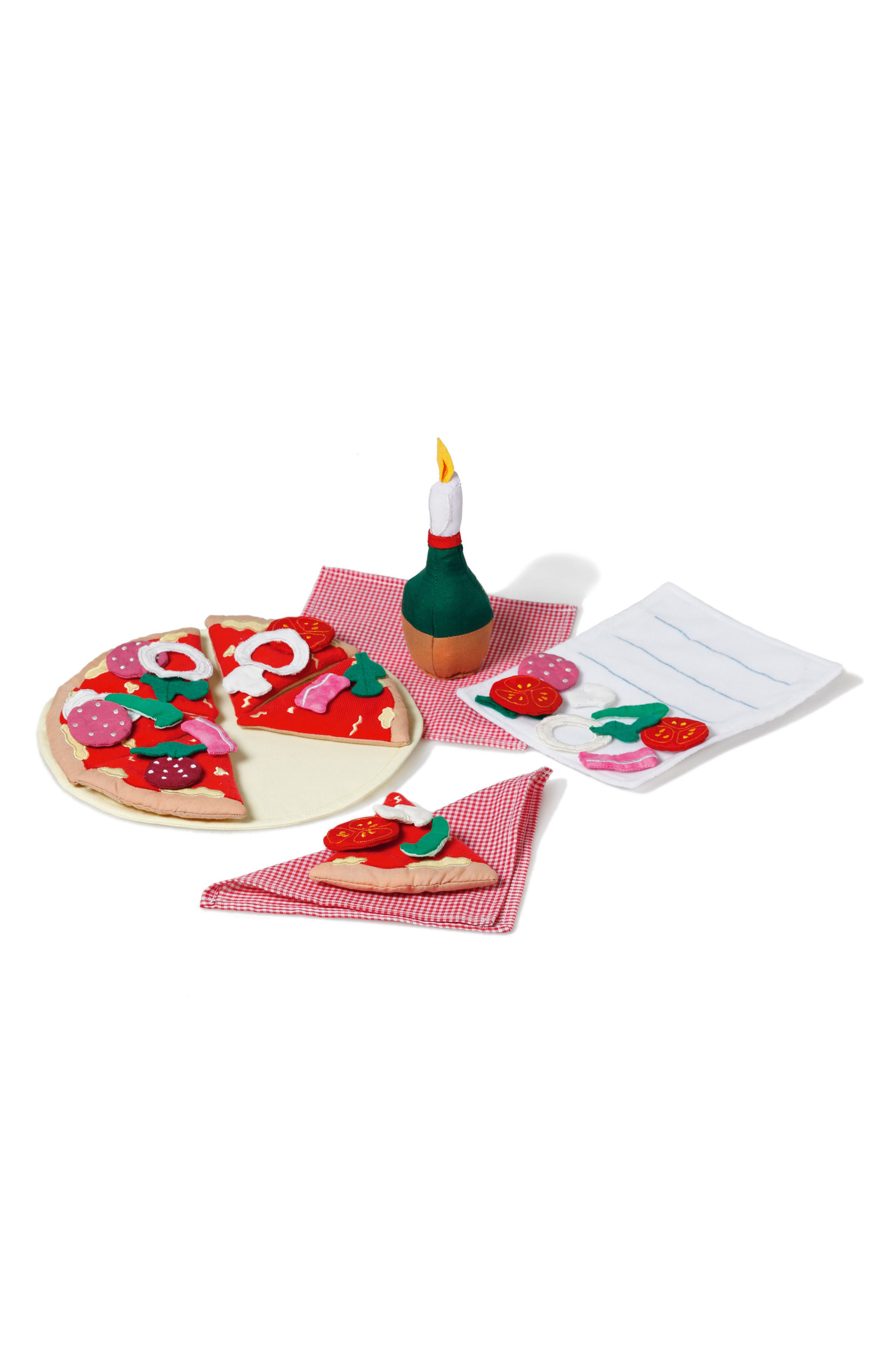 Pizza Set,                         Main,                         color, Red