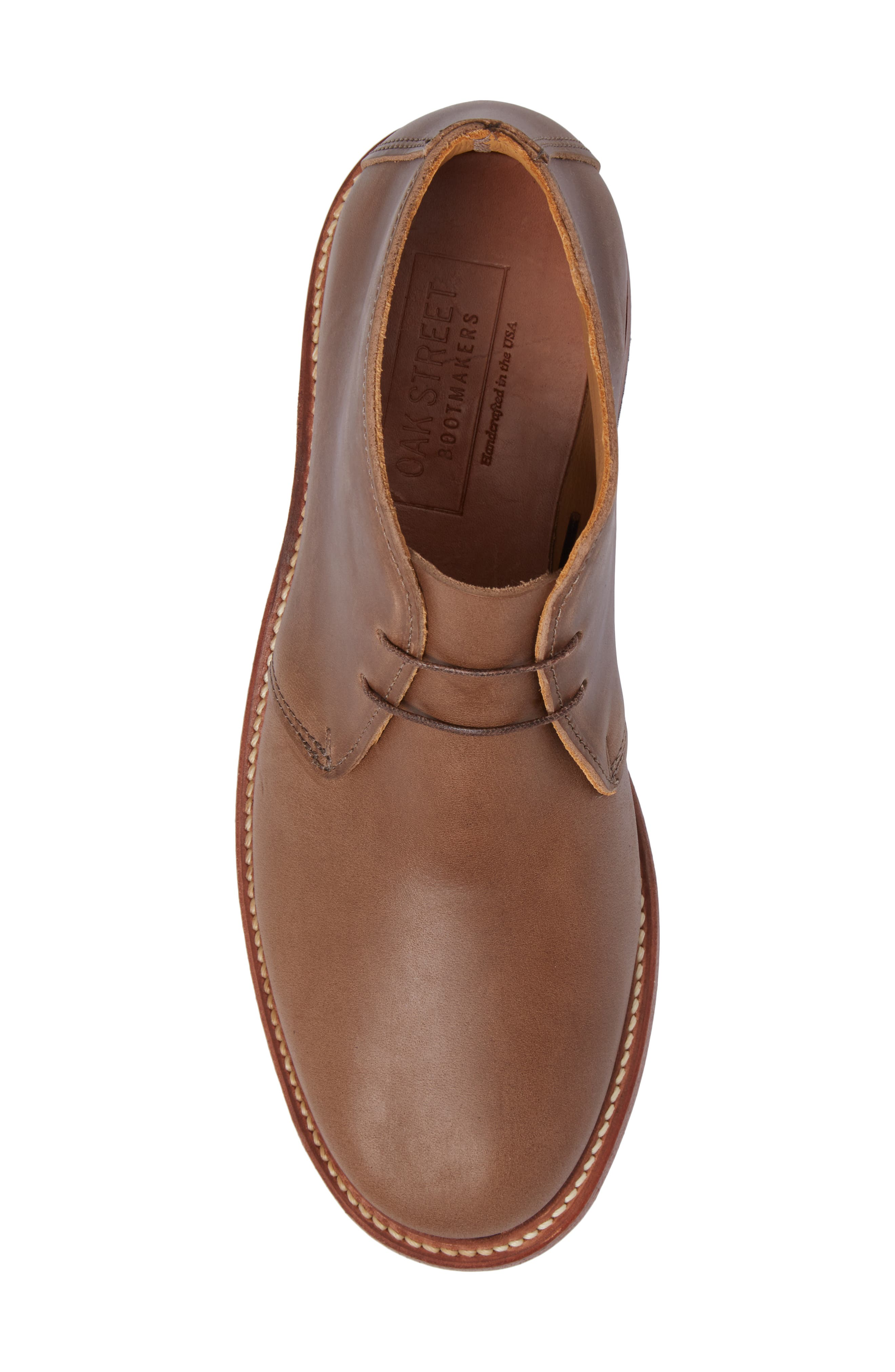 Campus Chukka Boot,                             Alternate thumbnail 5, color,                             Natural Leather
