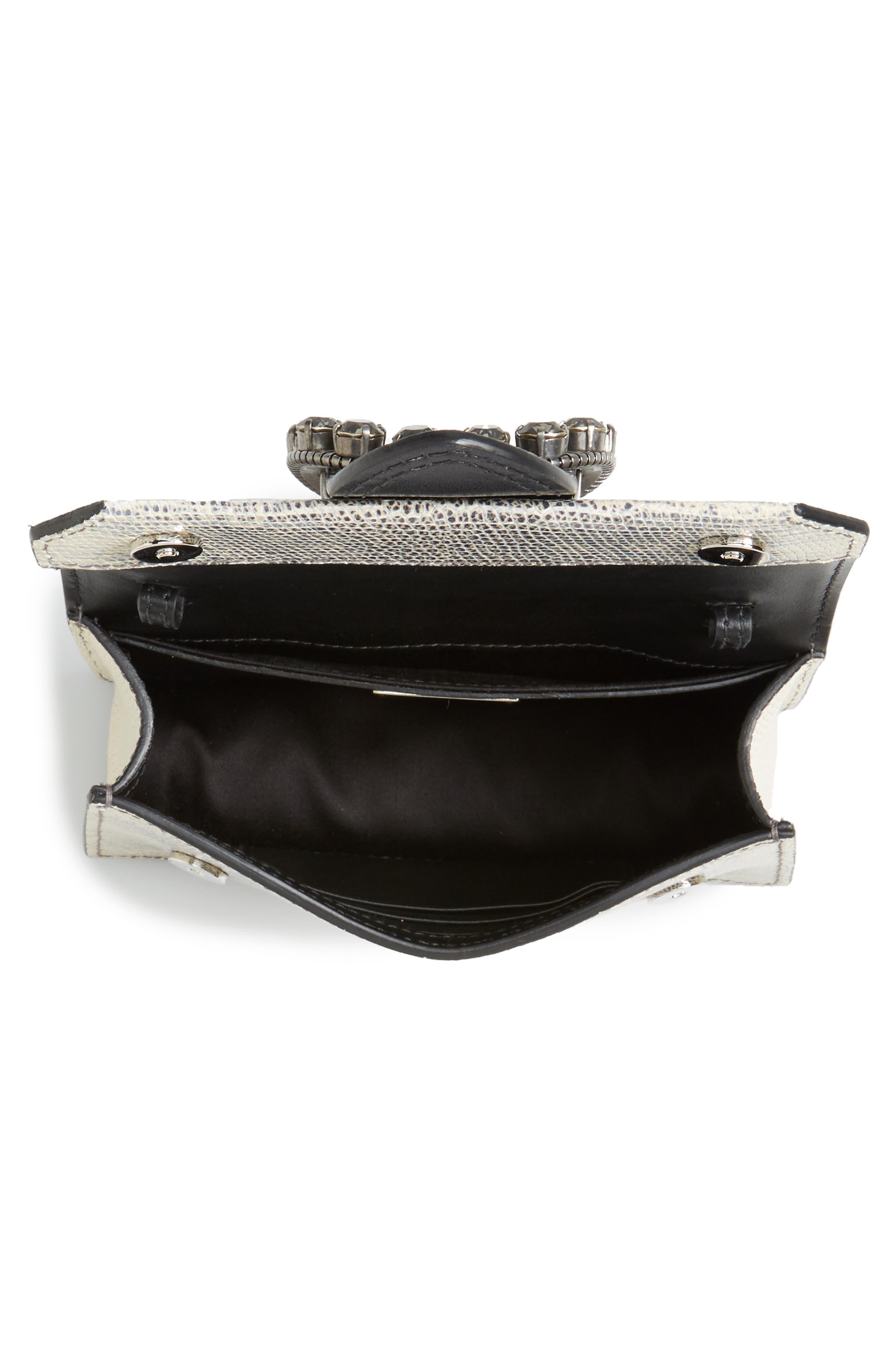 Alternate Image 4  - Miu Miu Lizard Embossed Leather Crossbody Bag