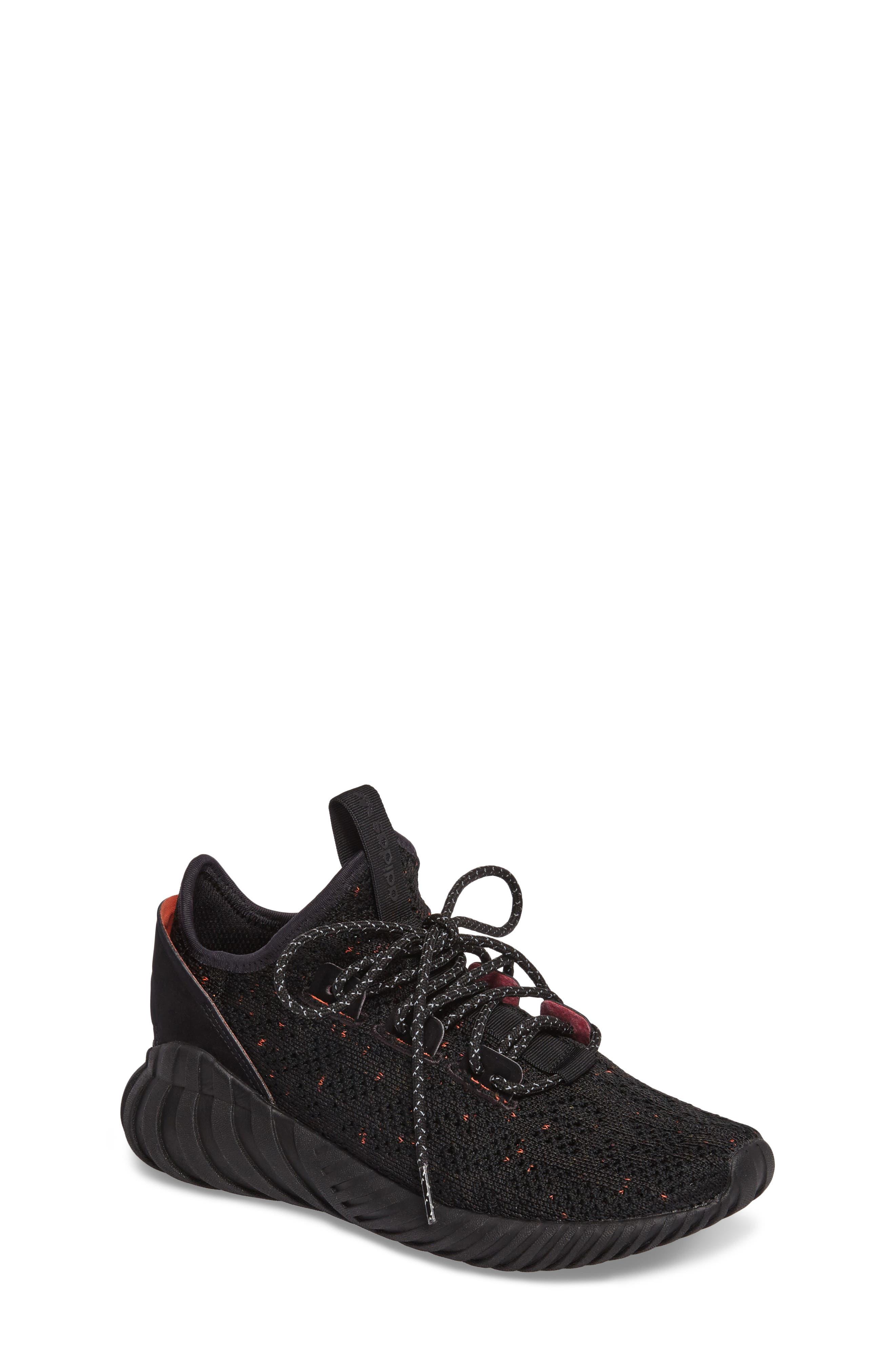 Main Image - adidas Tubular Doom Primeknit Sneaker (Big Kid)