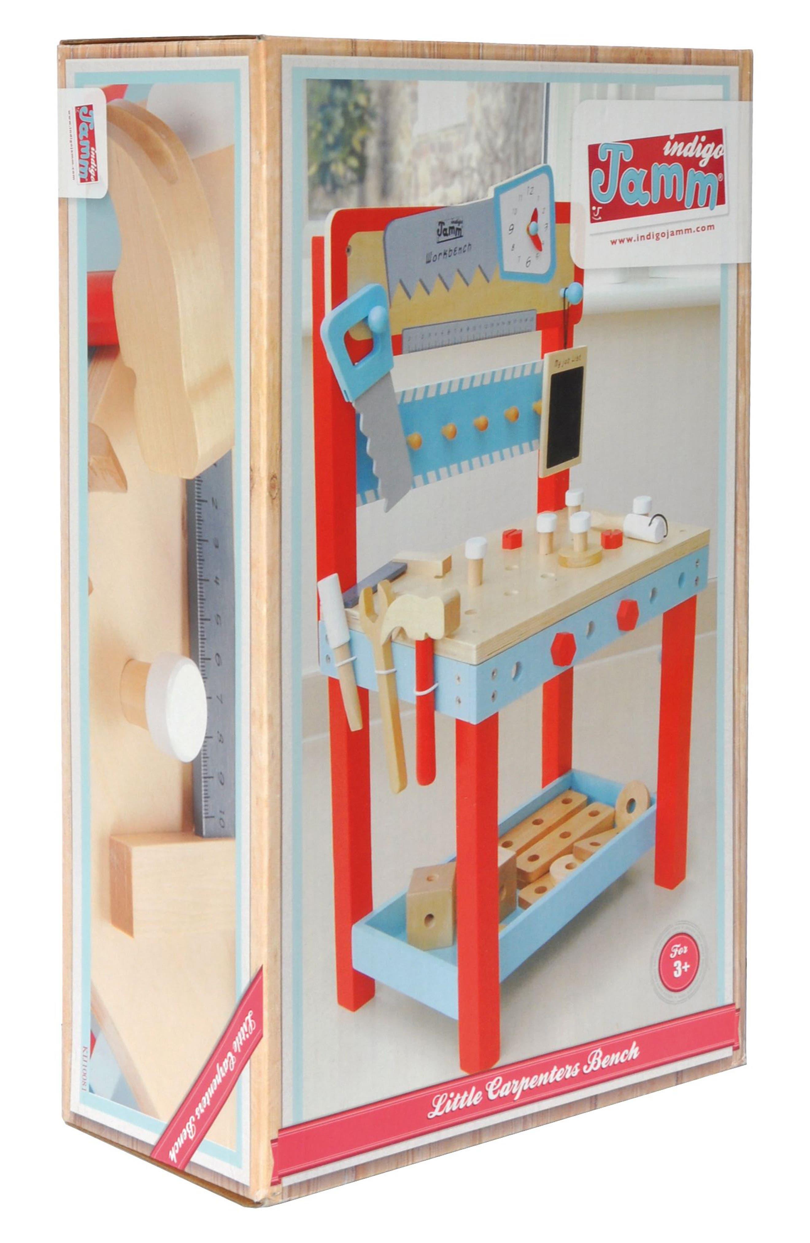 Little Carpenters Workbench,                             Alternate thumbnail 4, color,                             Blue
