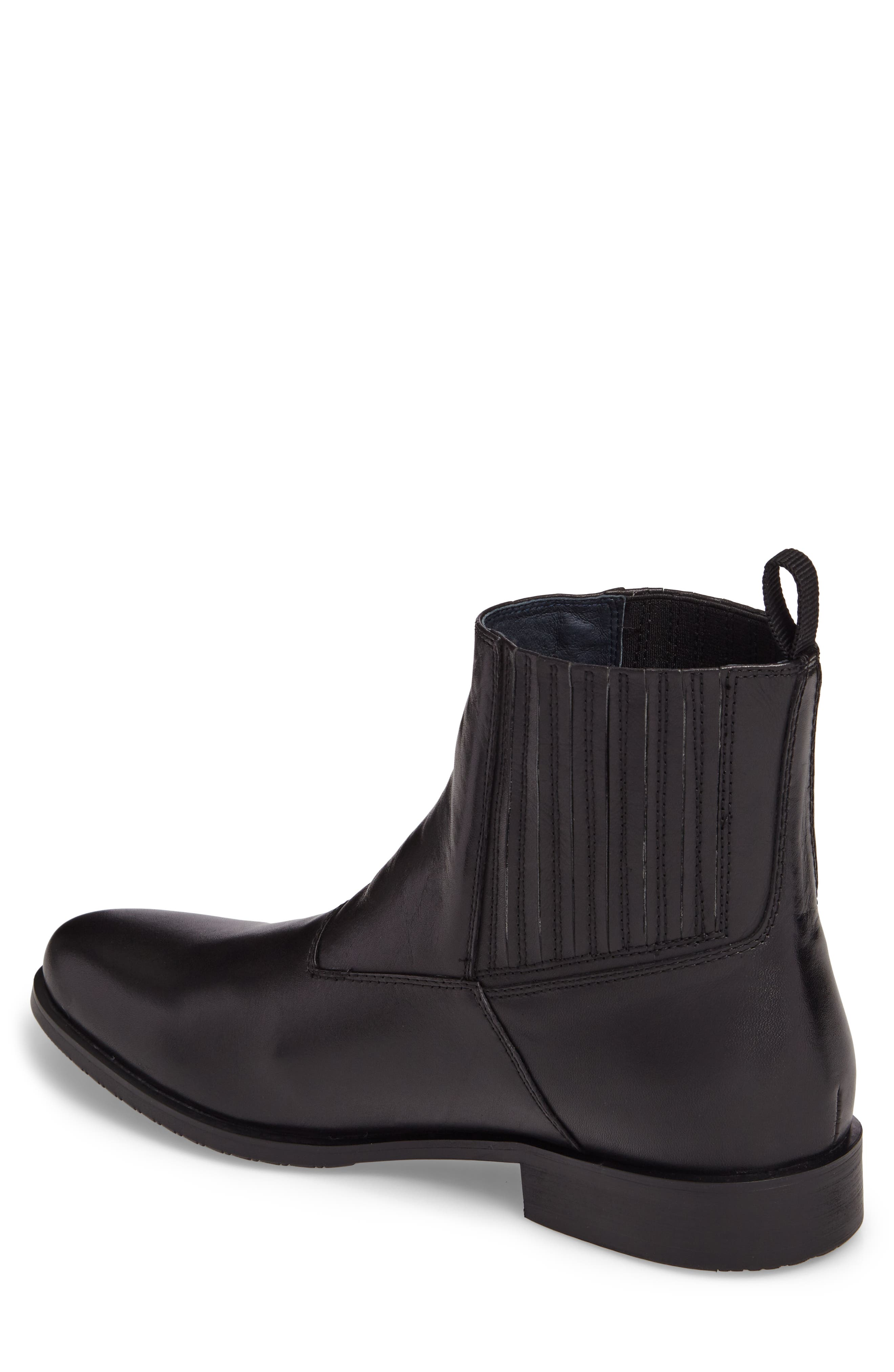 Guardi Zip Boot,                             Alternate thumbnail 2, color,                             Black Leather