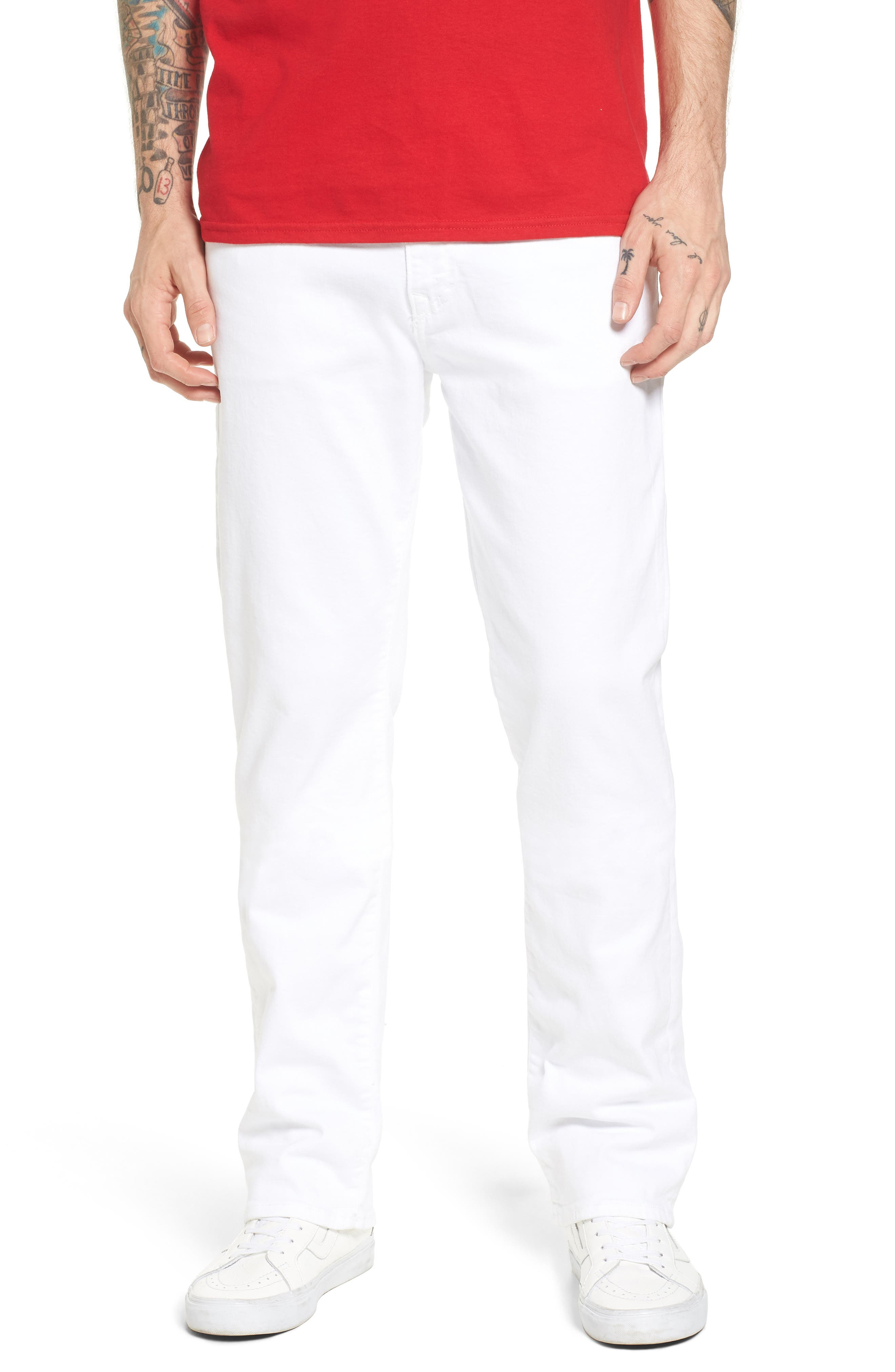 Main Image - True Religion Brand Jeans Ricky Relaxed Fit Jeans (Optic Stone)