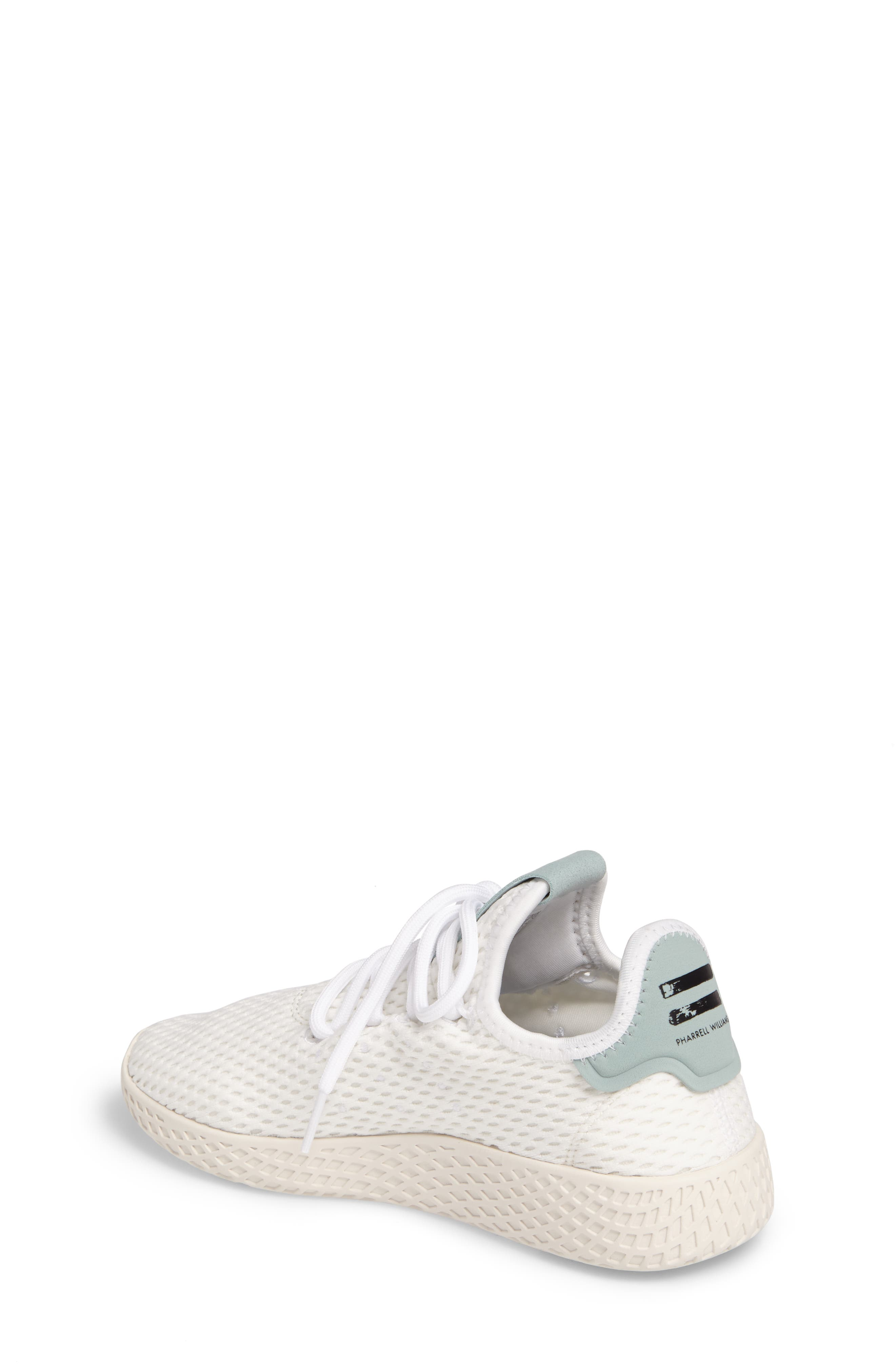 Originals x Pharrell Williams The Summers Mesh Sneaker,                             Alternate thumbnail 2, color,                             Footwear White/ Linen Green