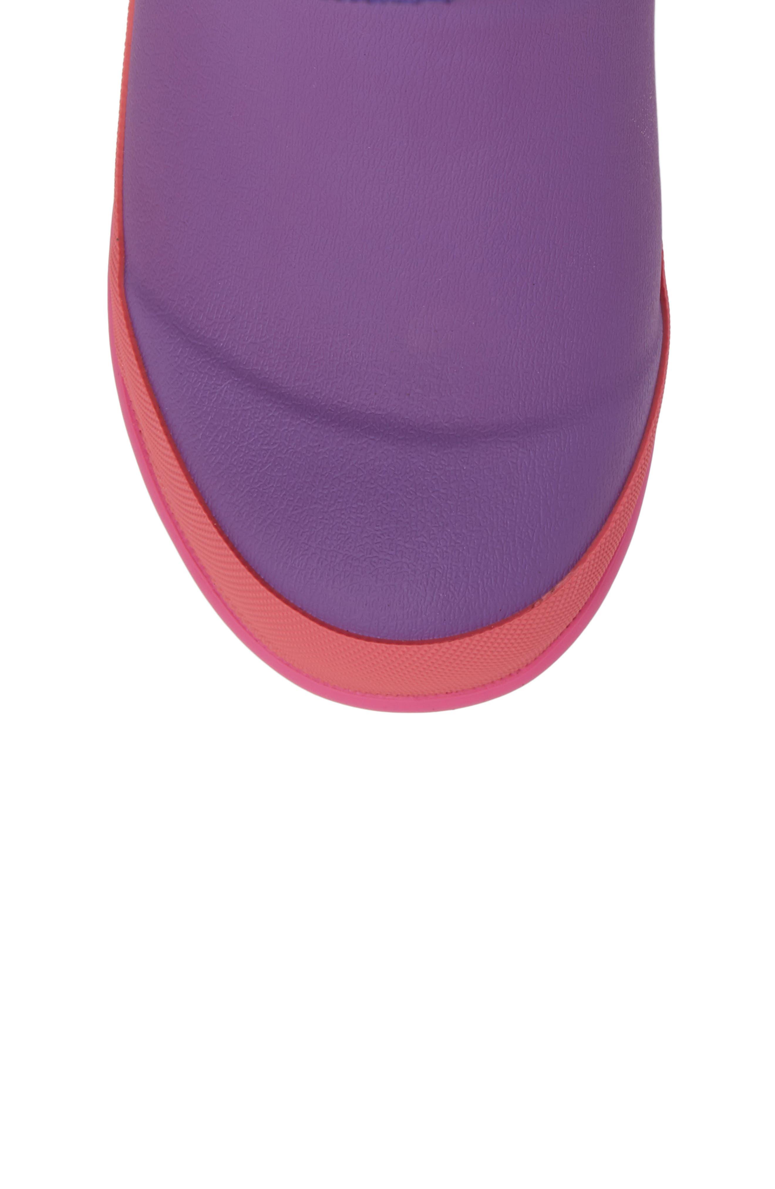 Neoprene Purple Snow Boot,                             Alternate thumbnail 5, color,                             Purple