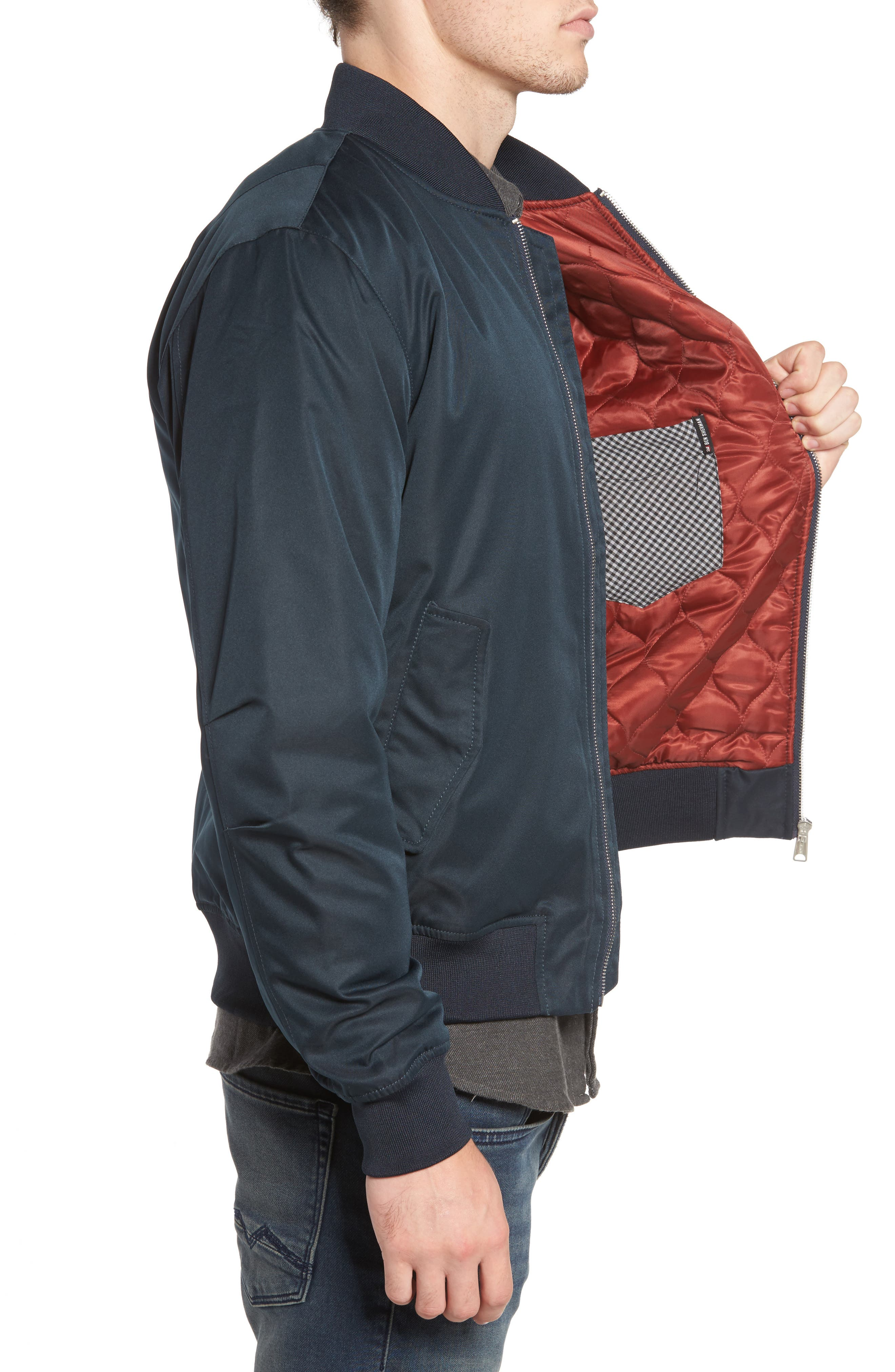 Alternate Image 3  - Ben Sherman MA1 Bomber Jacket