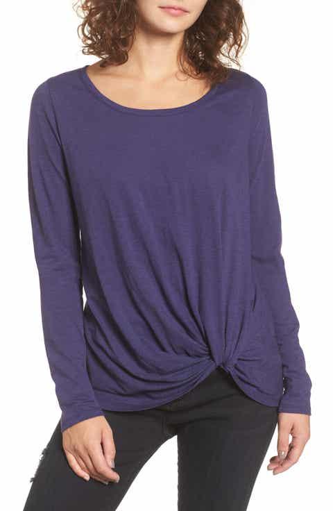 Women's Purple Tops & Tees   Nordstrom
