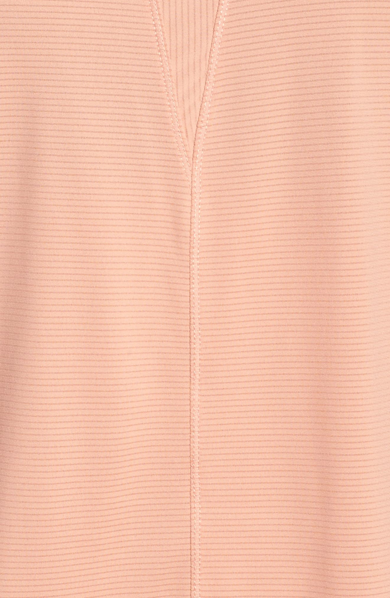 Body Work Stripe Tank,                             Alternate thumbnail 6, color,                             Coral Muted