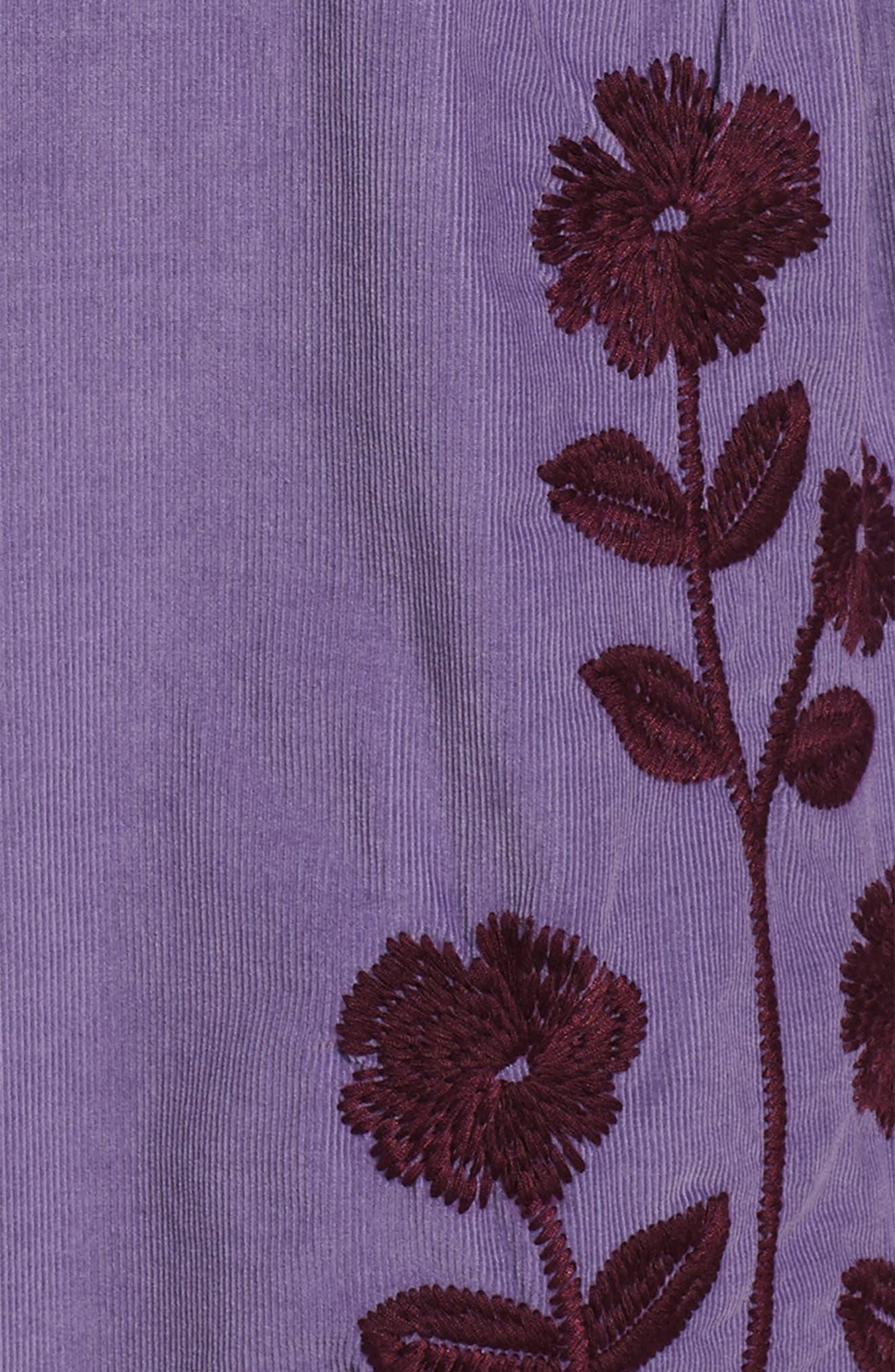 Alternate Image 3  - Tea Collection Cullodena Corduroy Dress (Toddler Girls, Little Girls & Big Girls)