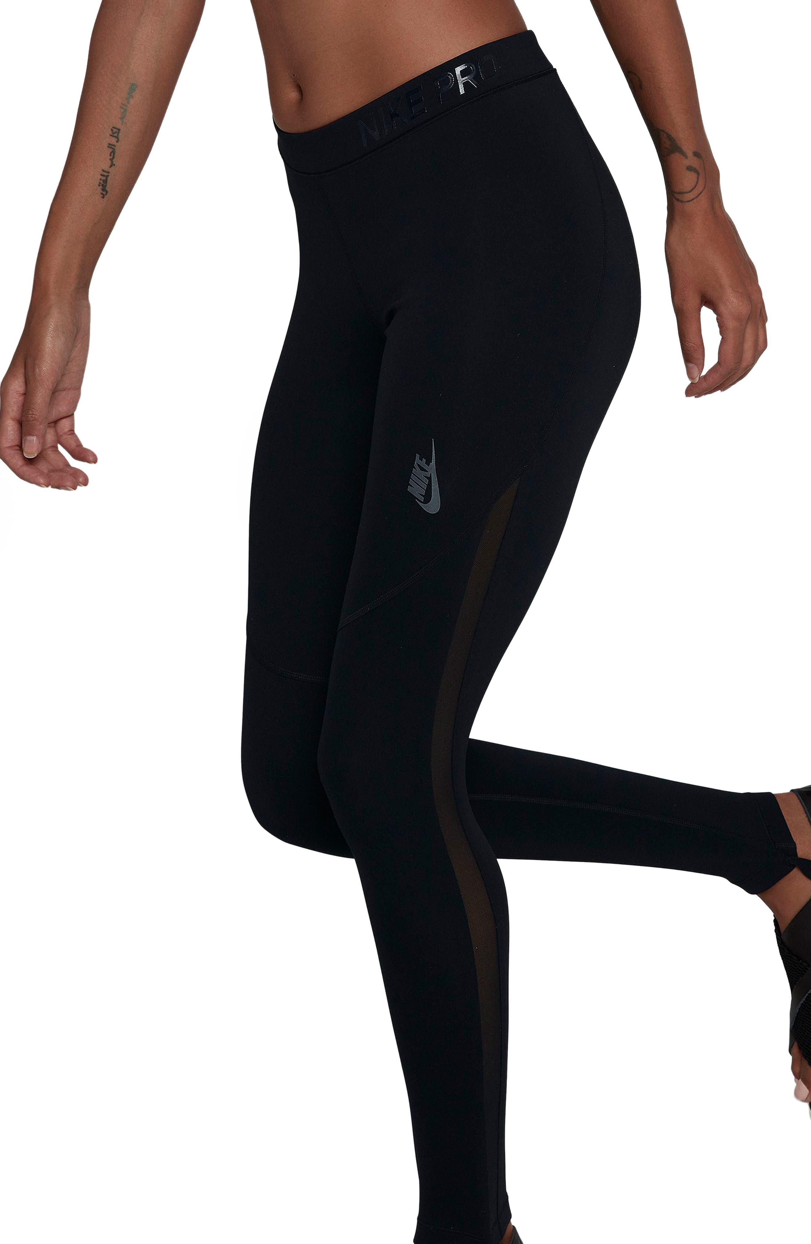 NikeLab NK One Tights,                         Main,                         color, Black