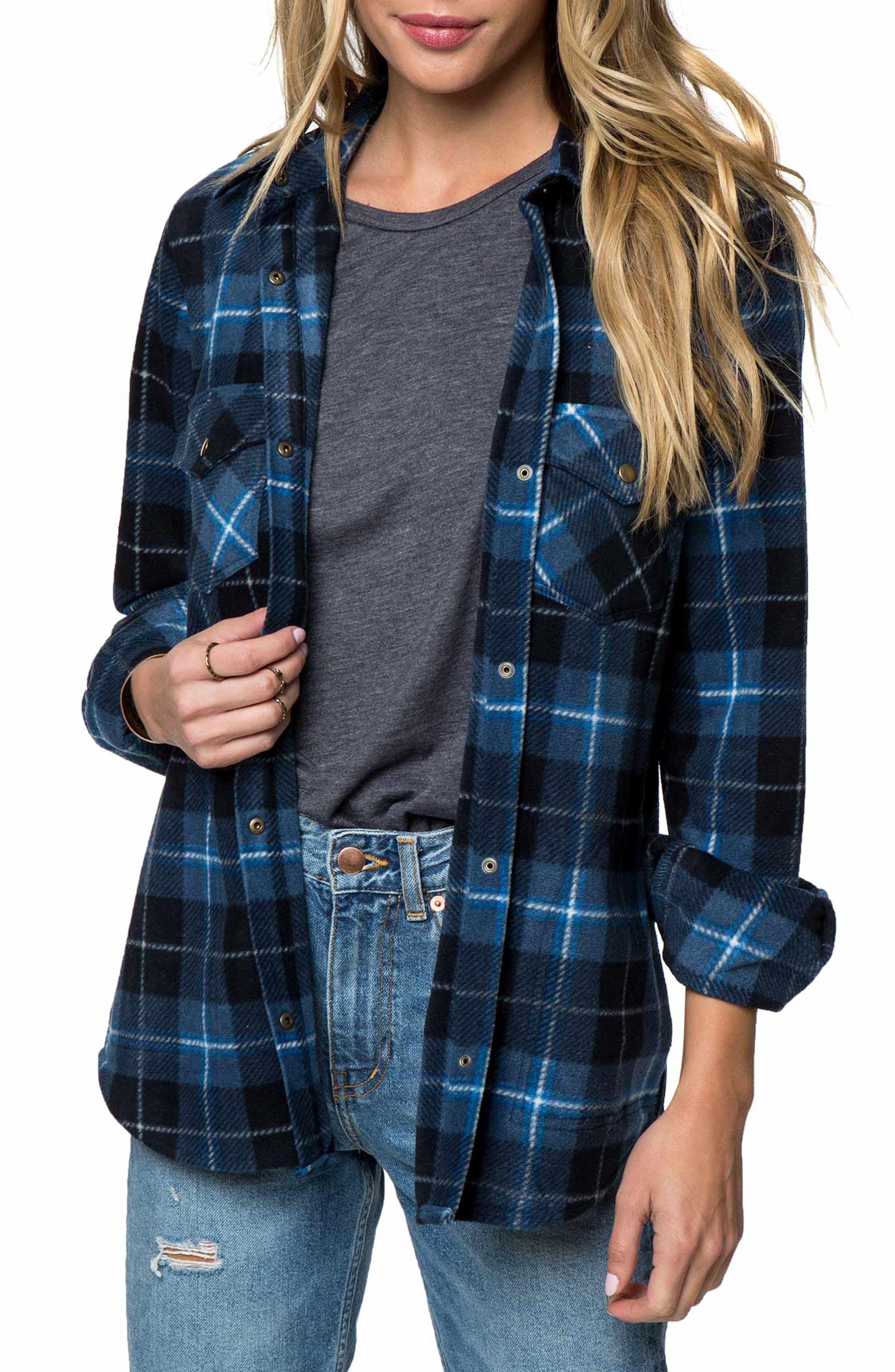 O'Neill Zuma Water-Resistant Flannel Shirt