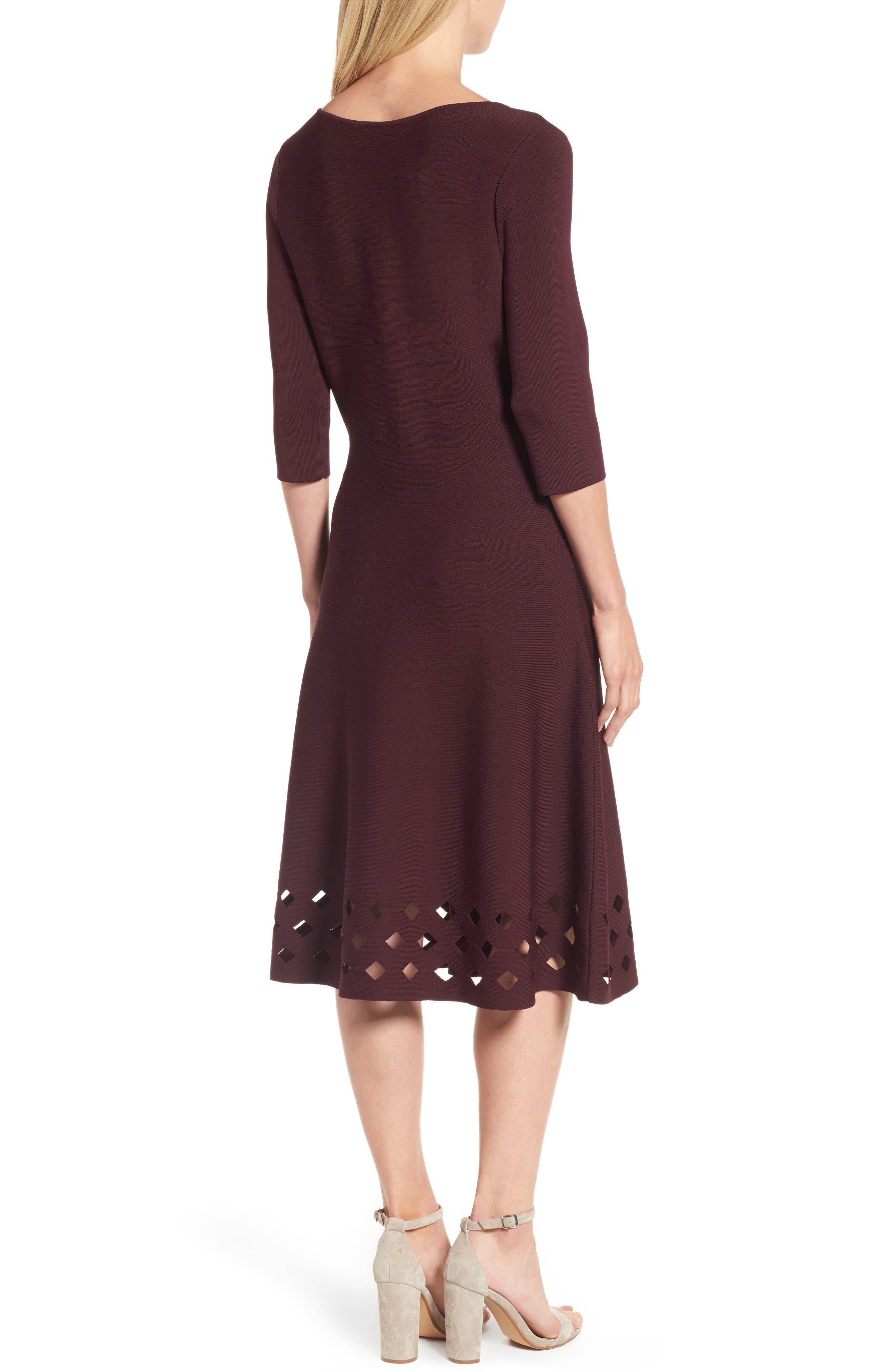 Alternate Image 2  - NIC+ZOE Time Out Twirl Midi Dress (Regular & Petite)