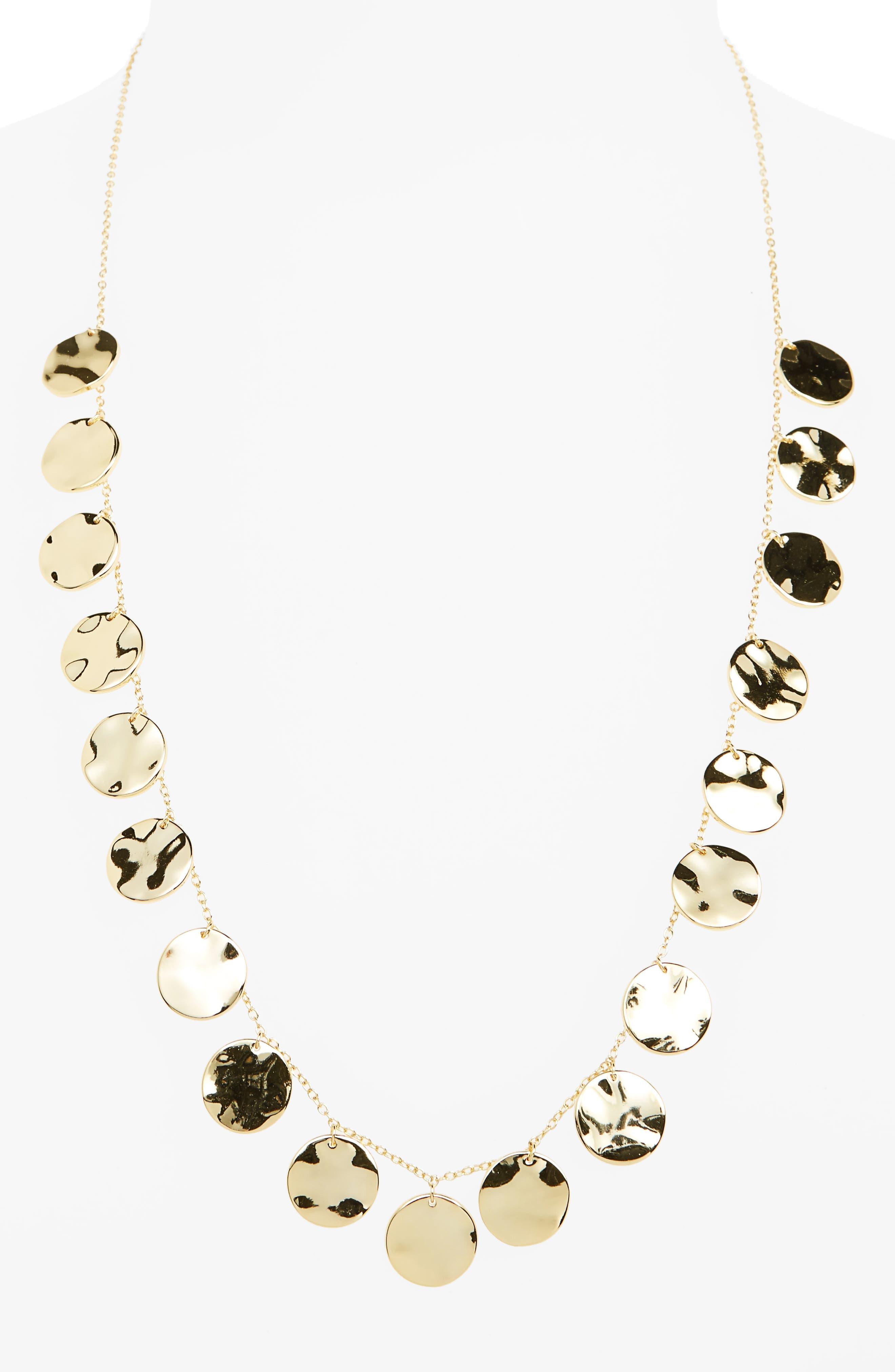 gorjana Chloe Long Frontal Necklace