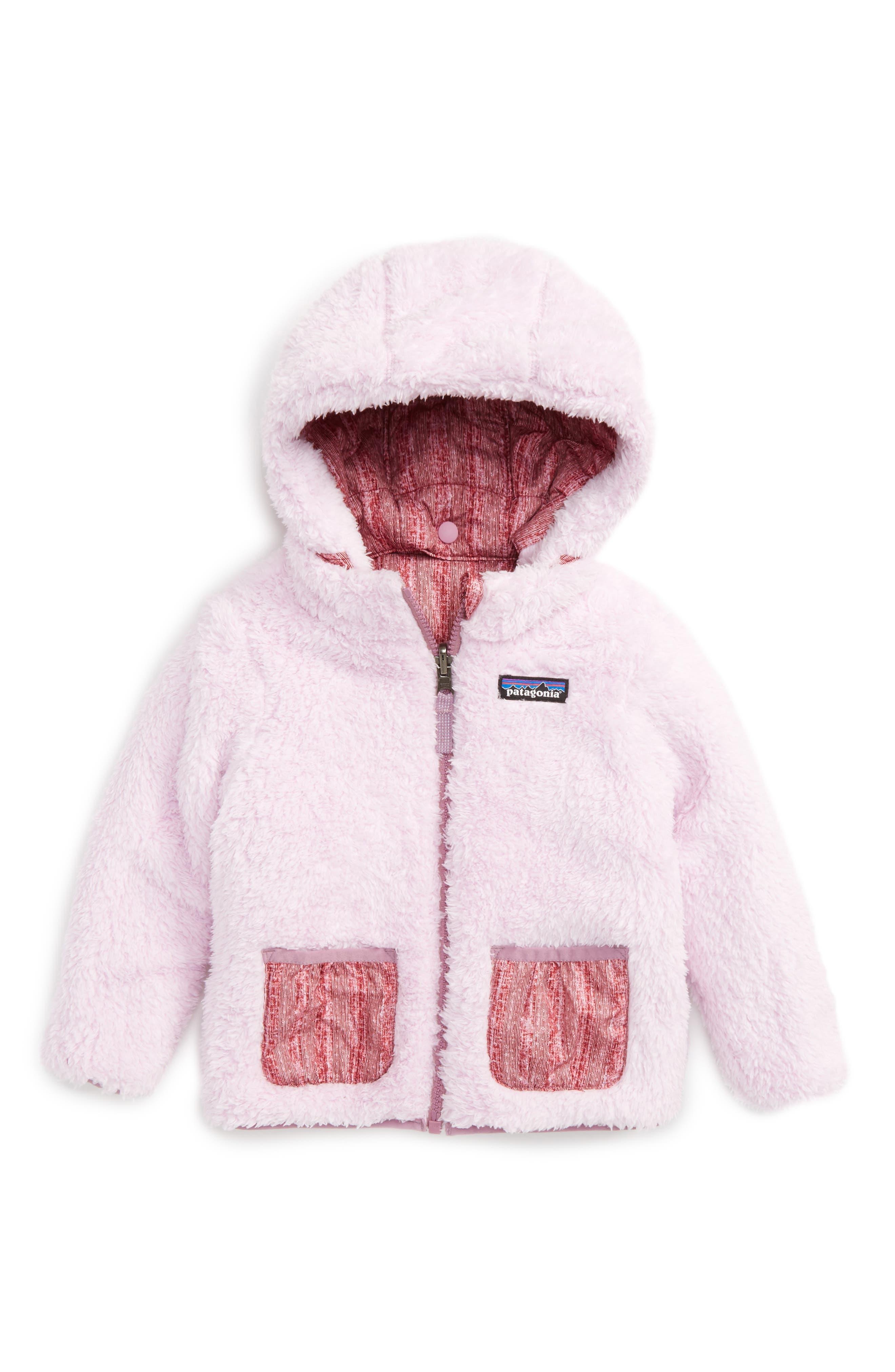 Alternate Image 2  - Patagonia Dream Song Water Repellent Reversible Jacket (Toddler Girls)