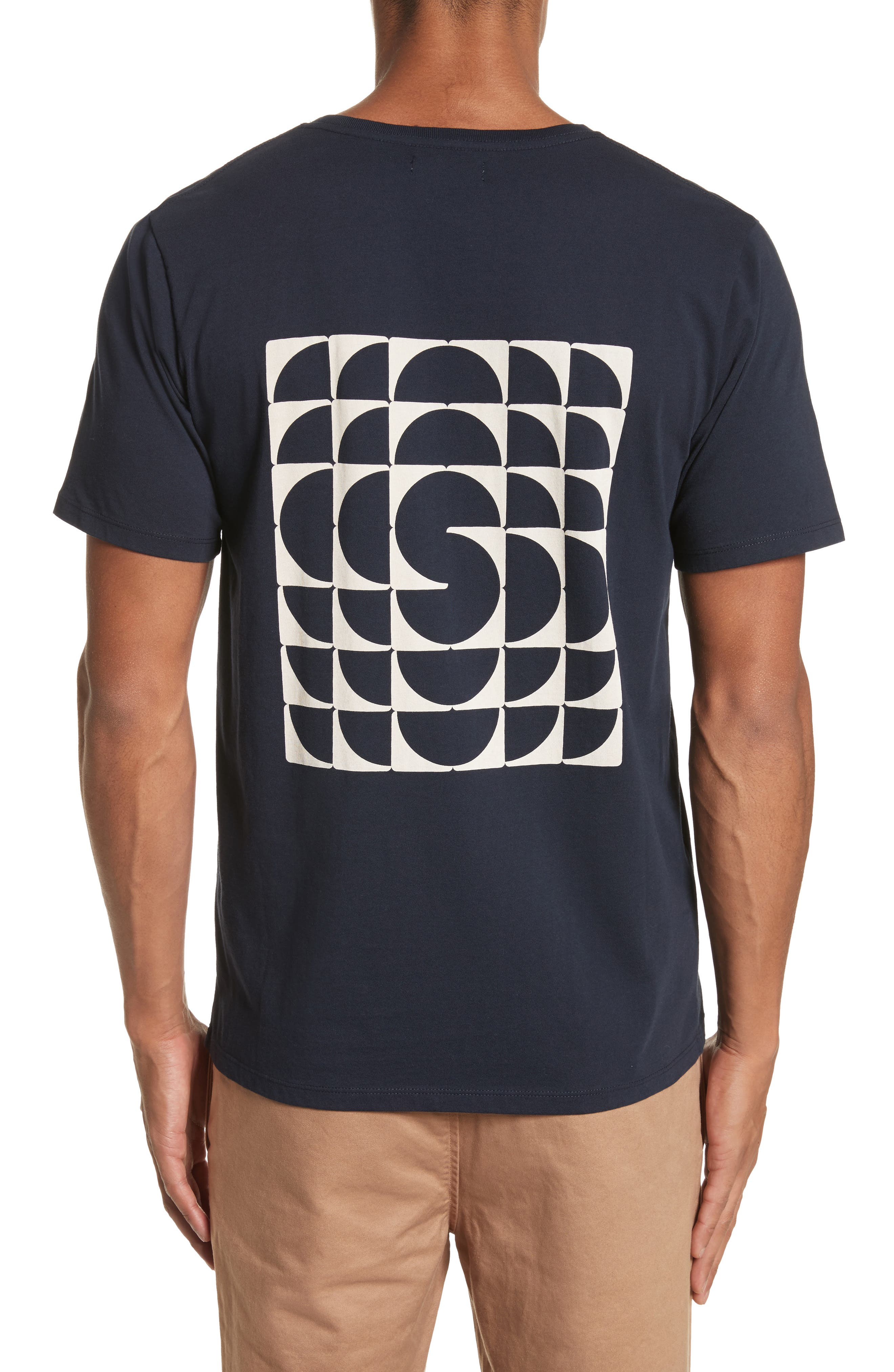 Kaleidoscope Graphic T-Shirt,                             Alternate thumbnail 2, color,                             Midnight