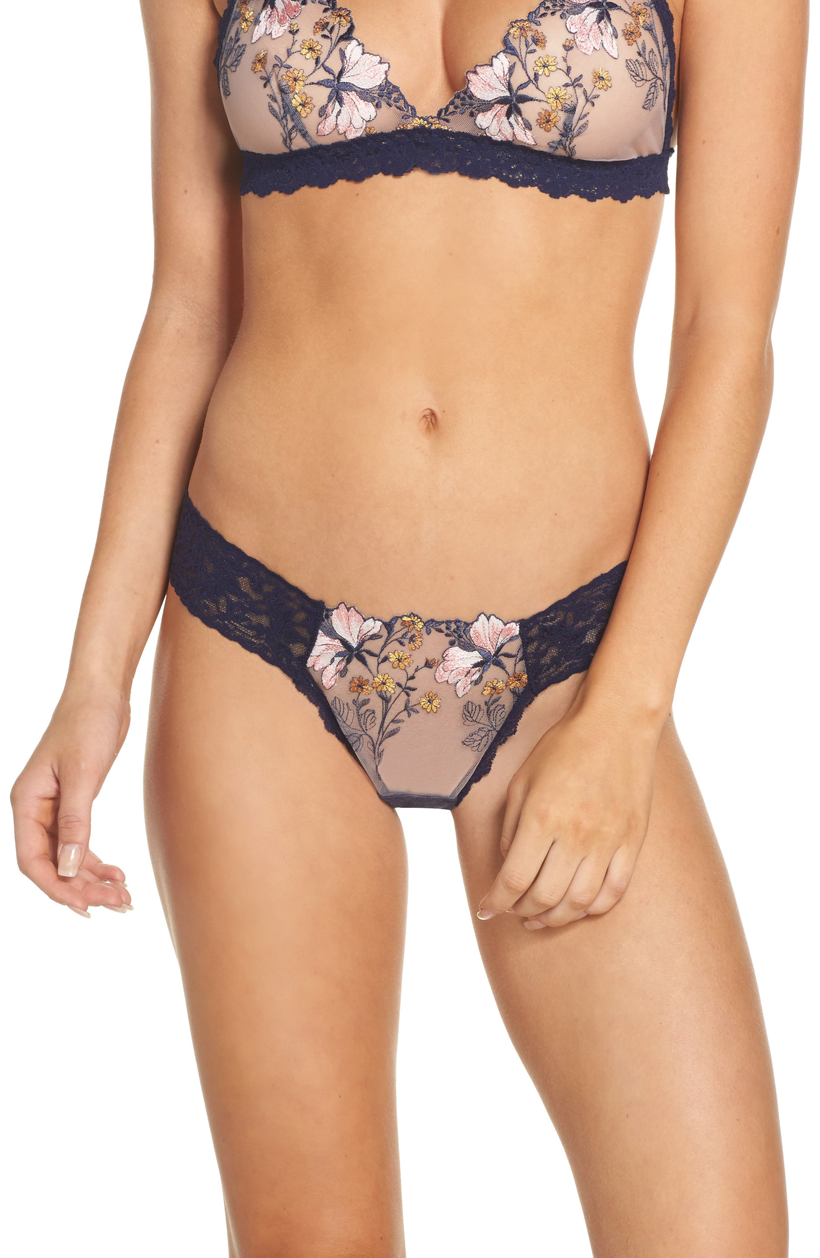 Hanky Panky Embroidered Thong