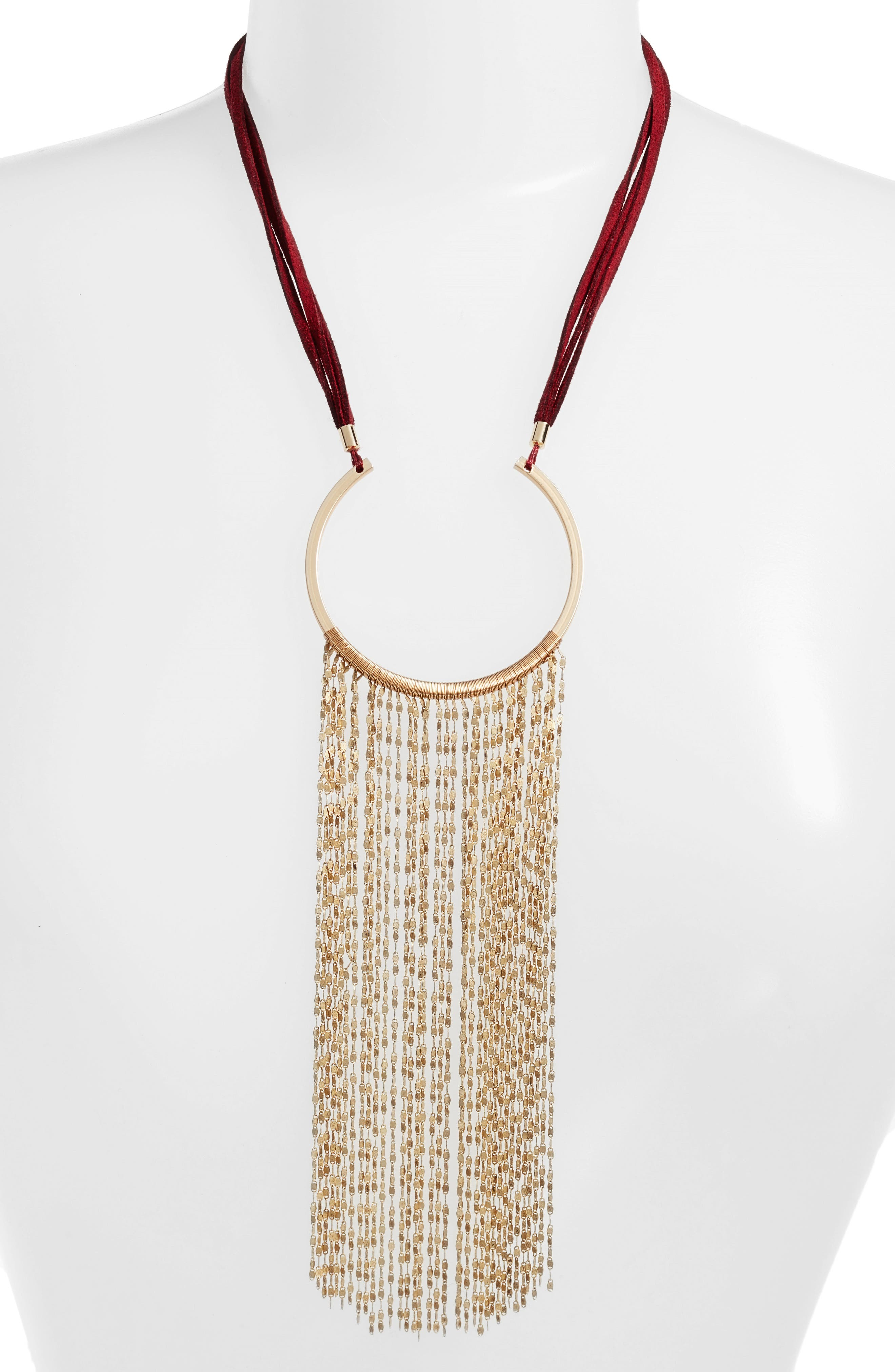 Alternate Image 1 Selected - Serefina Waterfall Statement Necklace