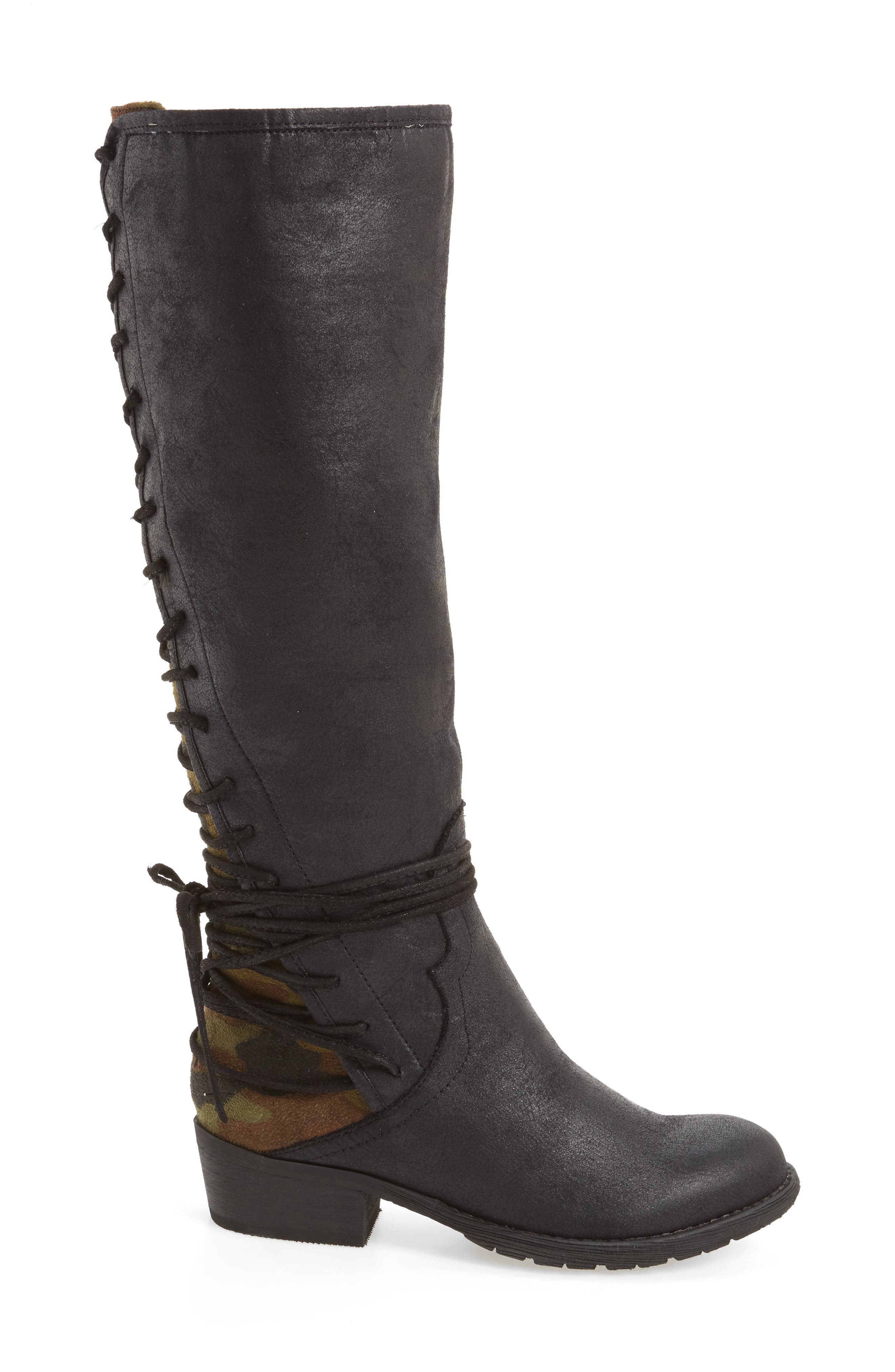 Alternate Image 3  - Very Volatile Marcel Corseted Knee High Boot (Women)