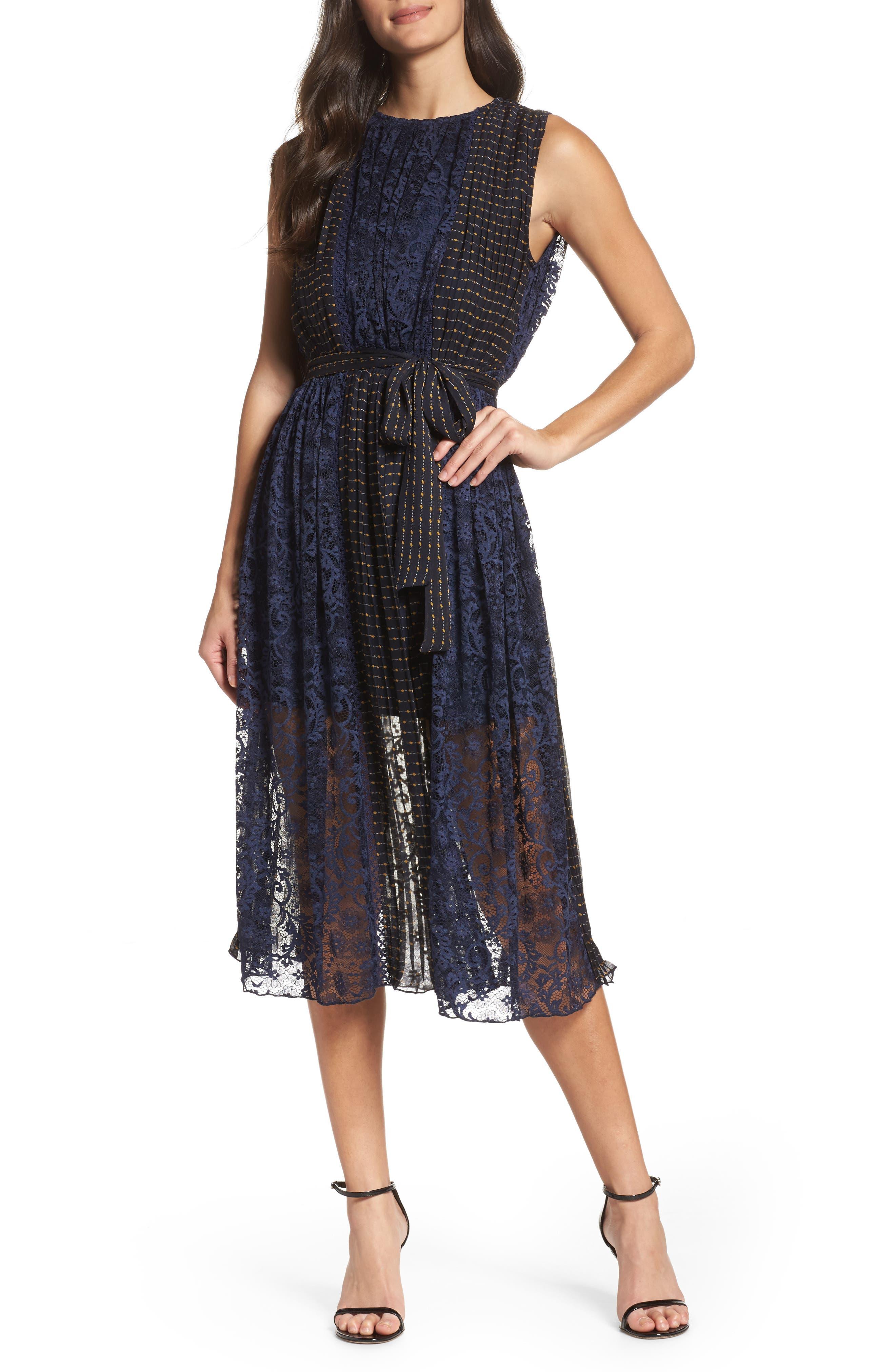 Main Image - Foxiedox Kitterby Midi Dress