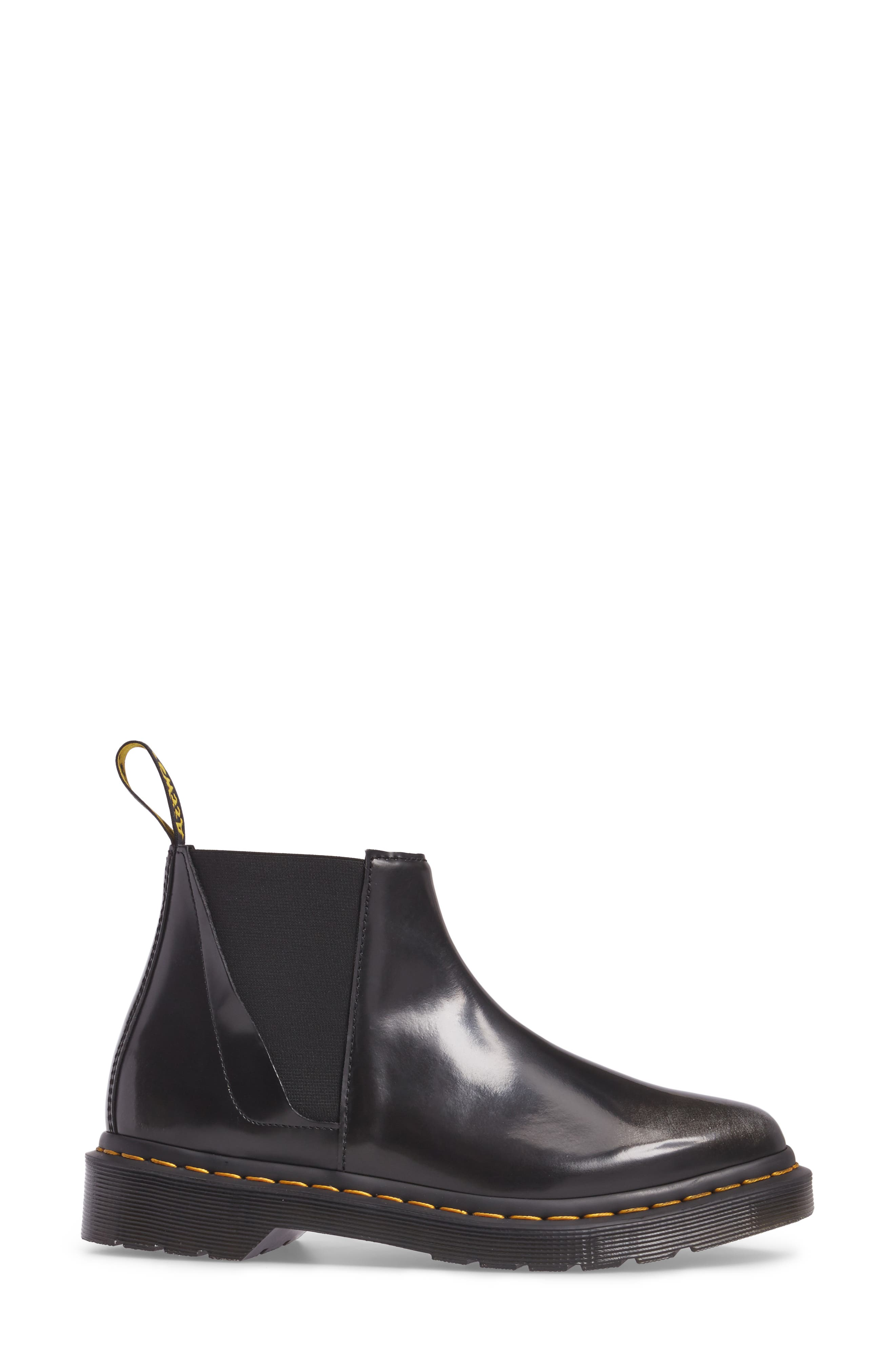 Bianca Smooth Bootie,                             Alternate thumbnail 4, color,                             Black/ Silver Arcadia