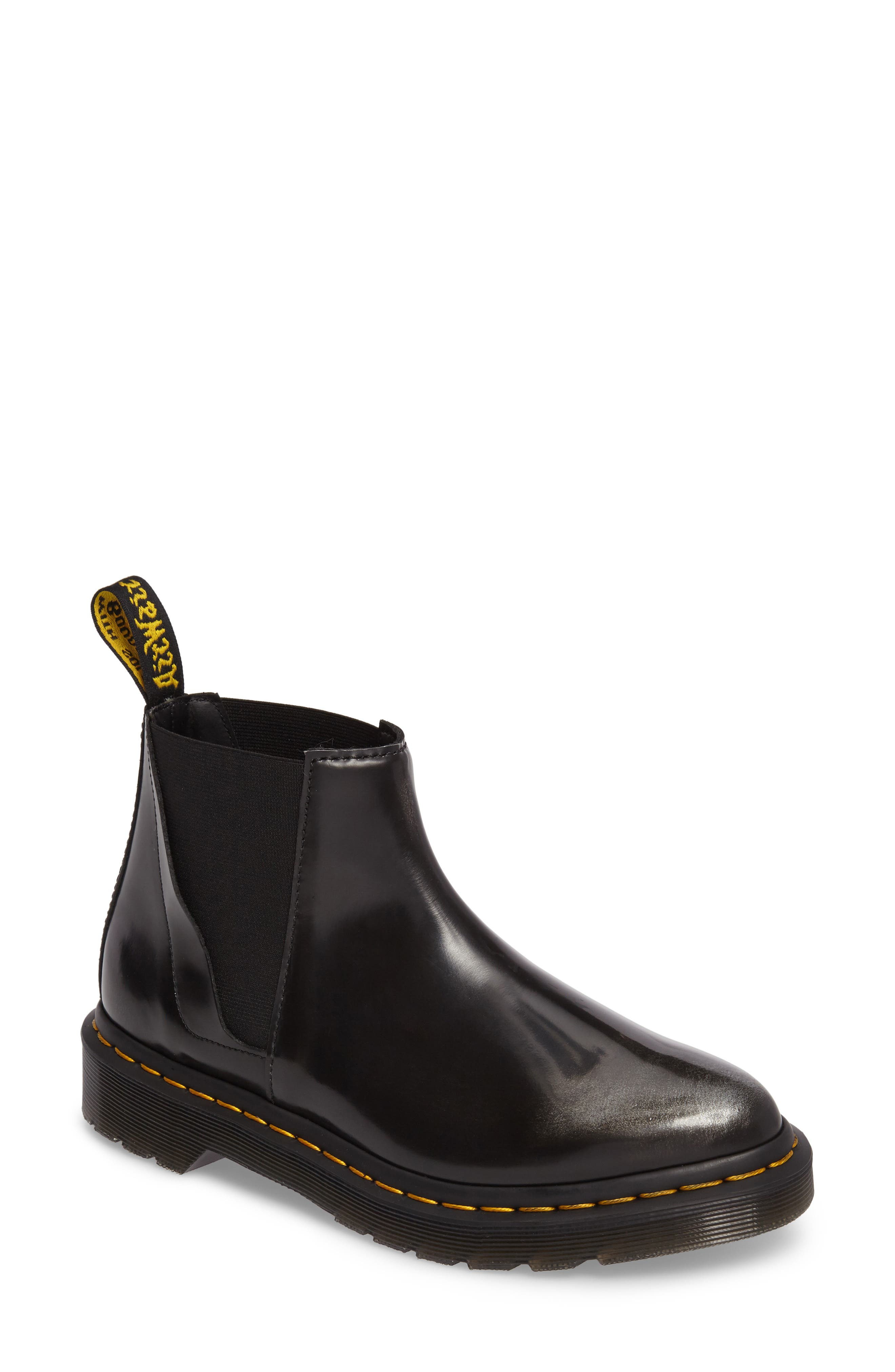 Alternate Image 1 Selected - Dr. Martens Bianca Smooth Bootie (Women)