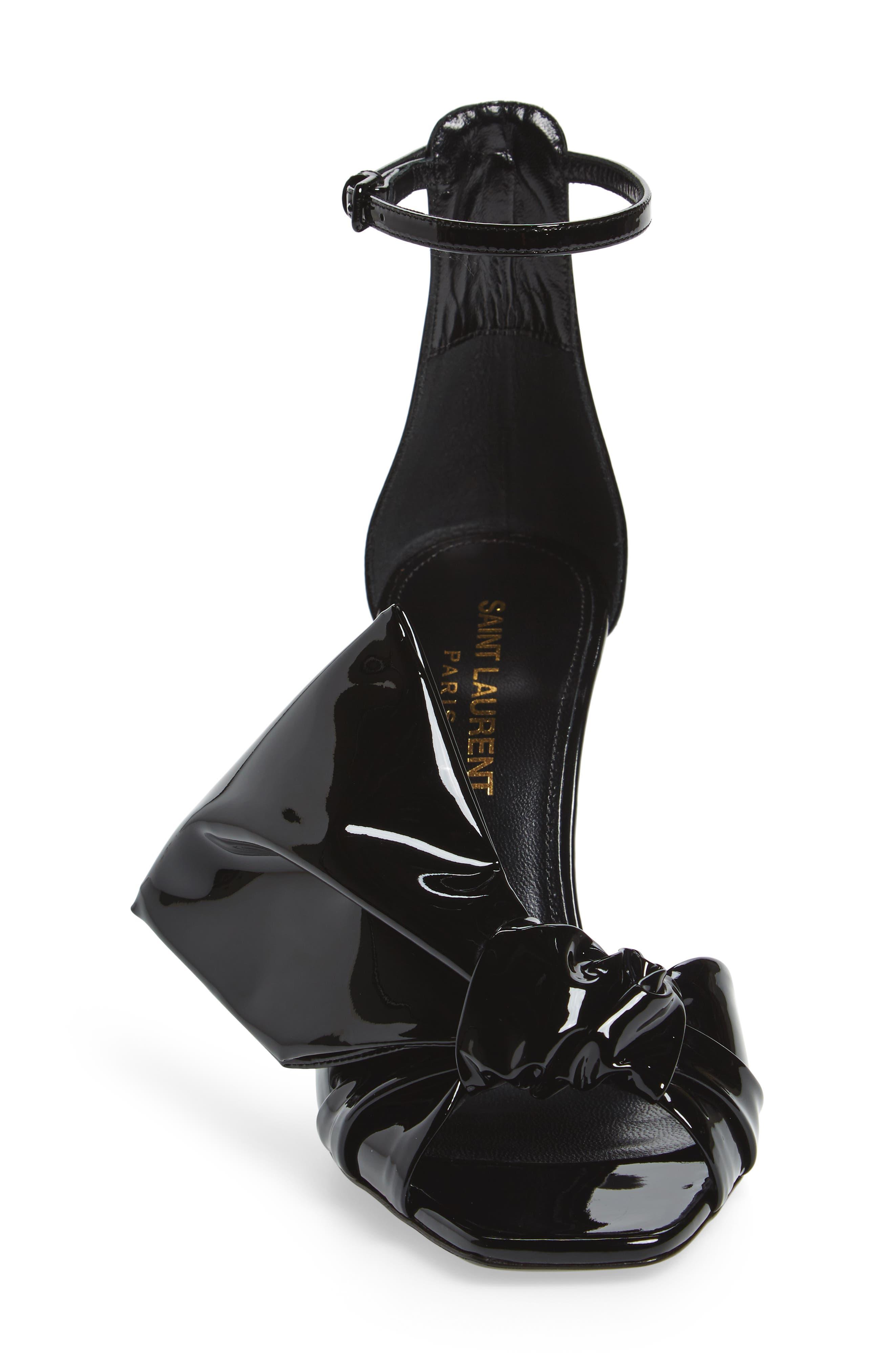 Alternate Image 4  - Saint Laurent Freja Bow Strap Sandal (Women)